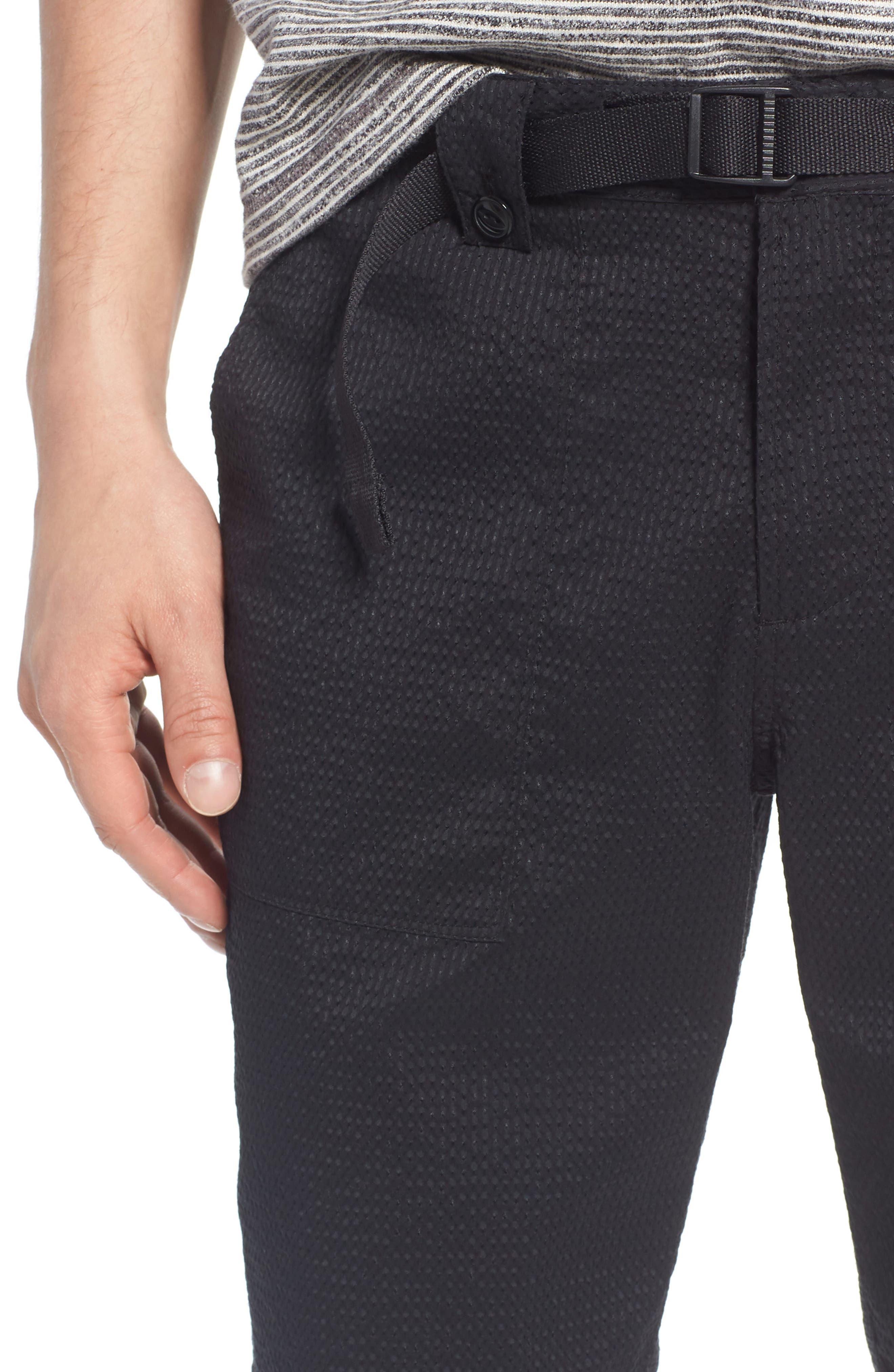 Utility Seersucker Shorts,                             Alternate thumbnail 4, color,