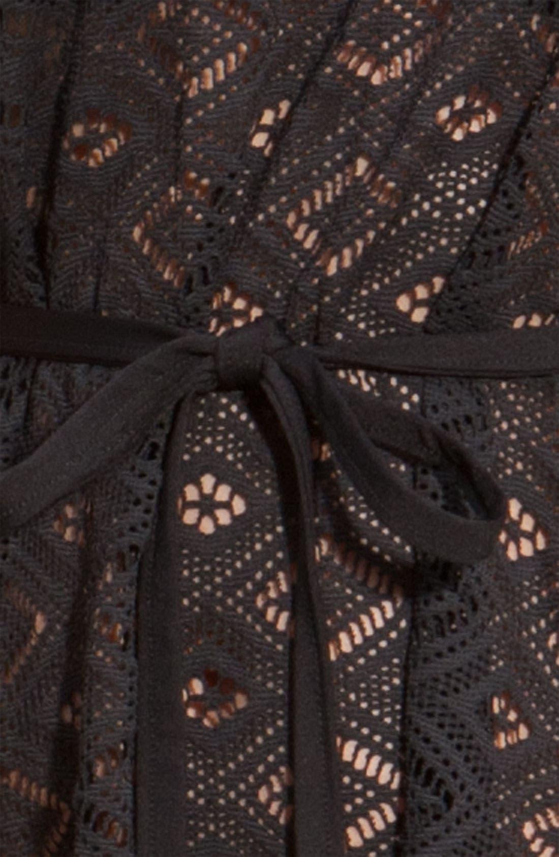 Crochet Cover-Up,                             Alternate thumbnail 2, color,                             001