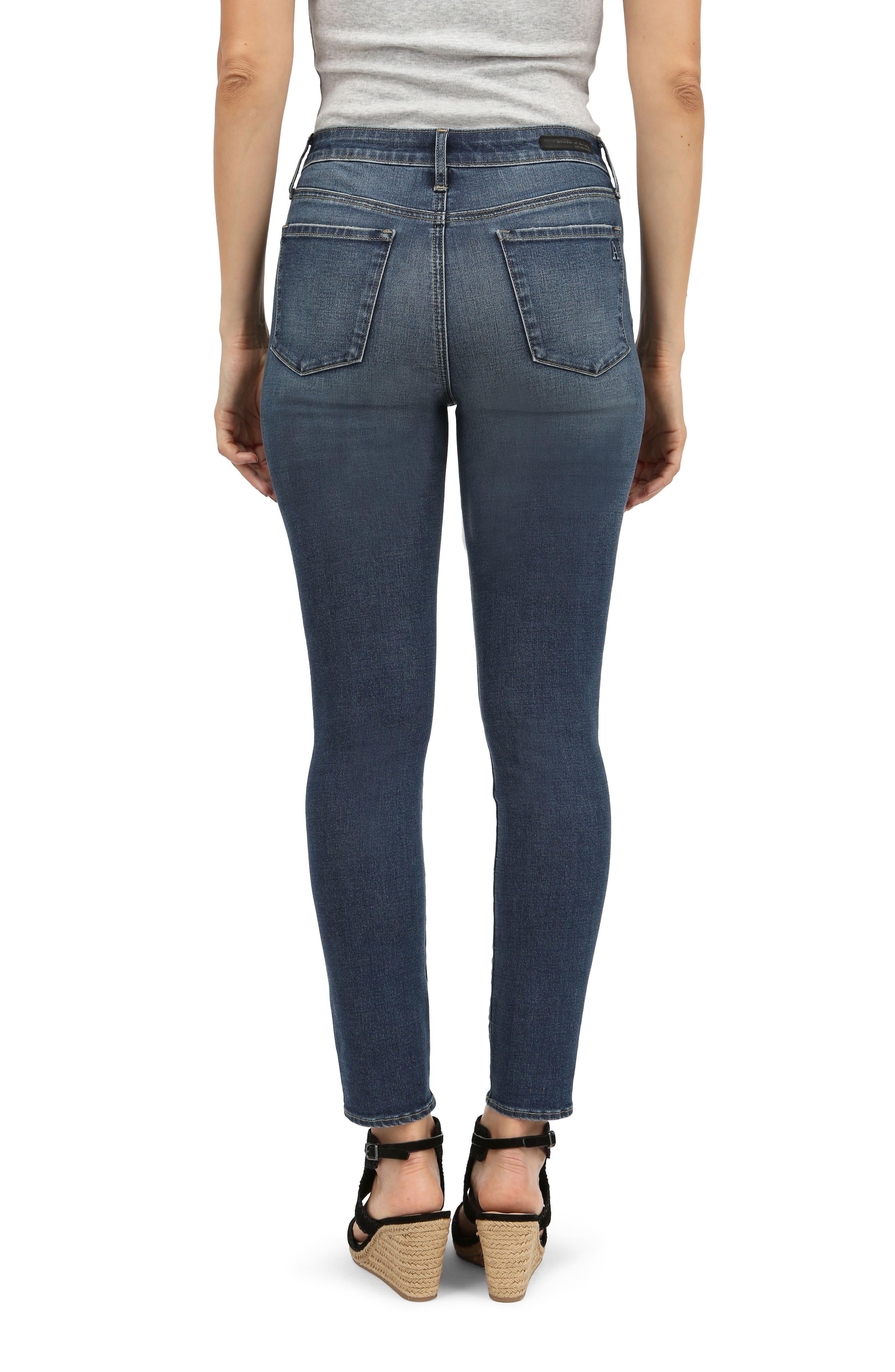 Heather High Waist Skinny Jeans,                             Alternate thumbnail 2, color,                             420