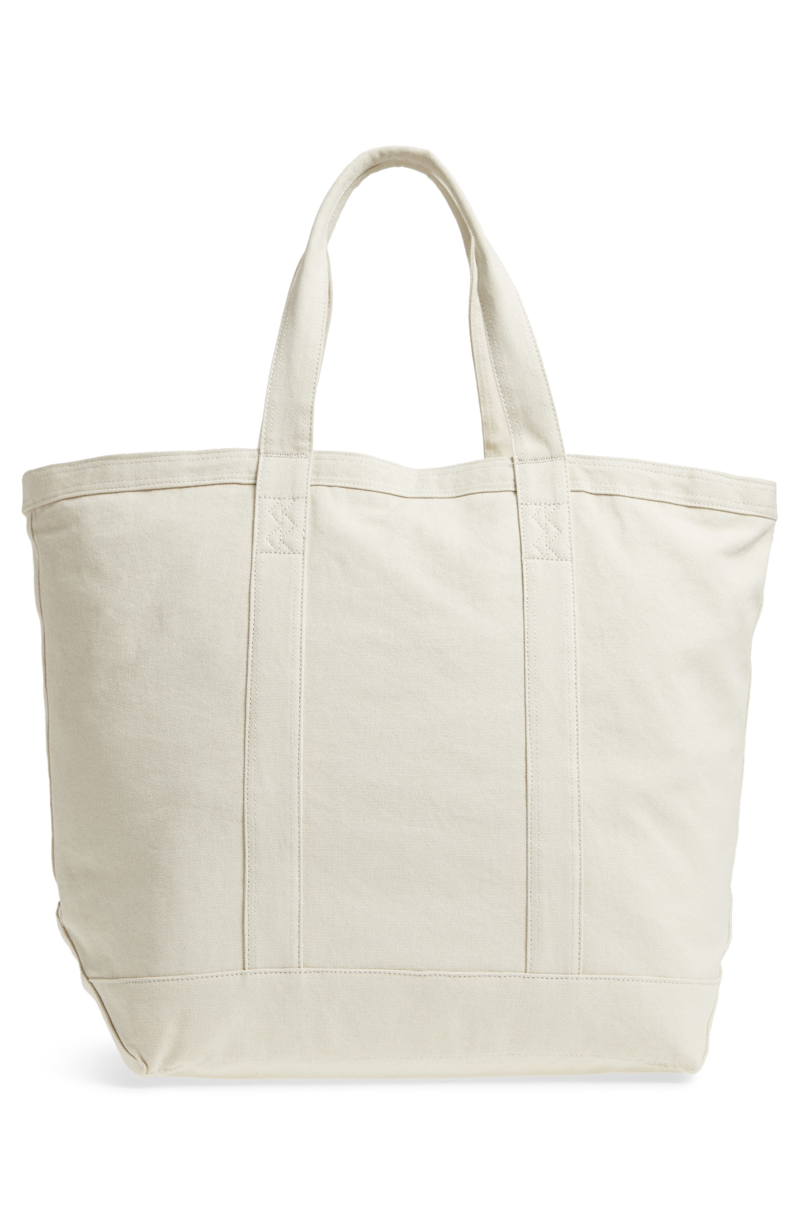 Bamfield Cotton Canvas Tote,                             Alternate thumbnail 10, color,