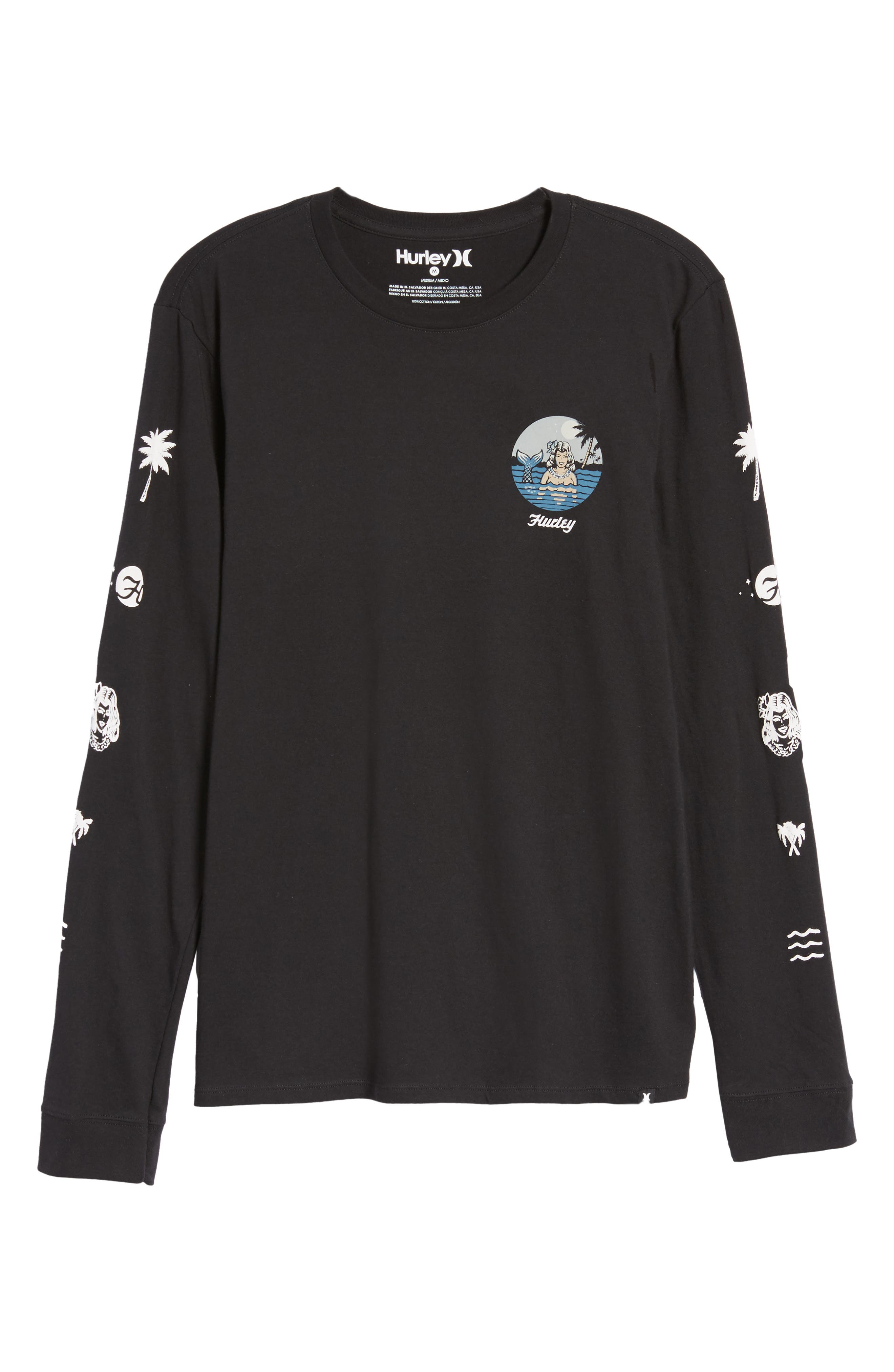 Sirena T-Shirt,                             Alternate thumbnail 6, color,                             010