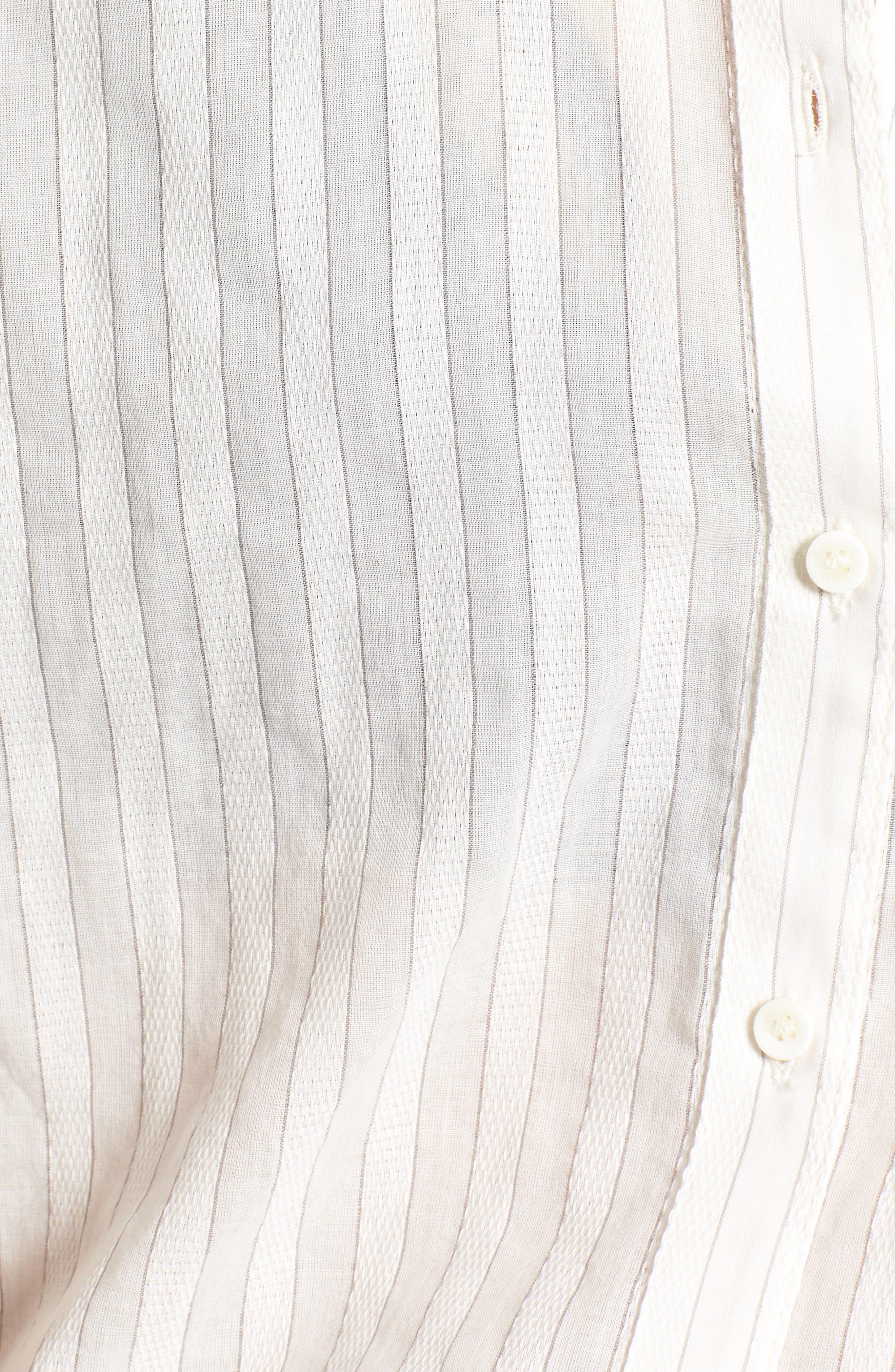 Stripe Shirt,                             Alternate thumbnail 6, color,                             100