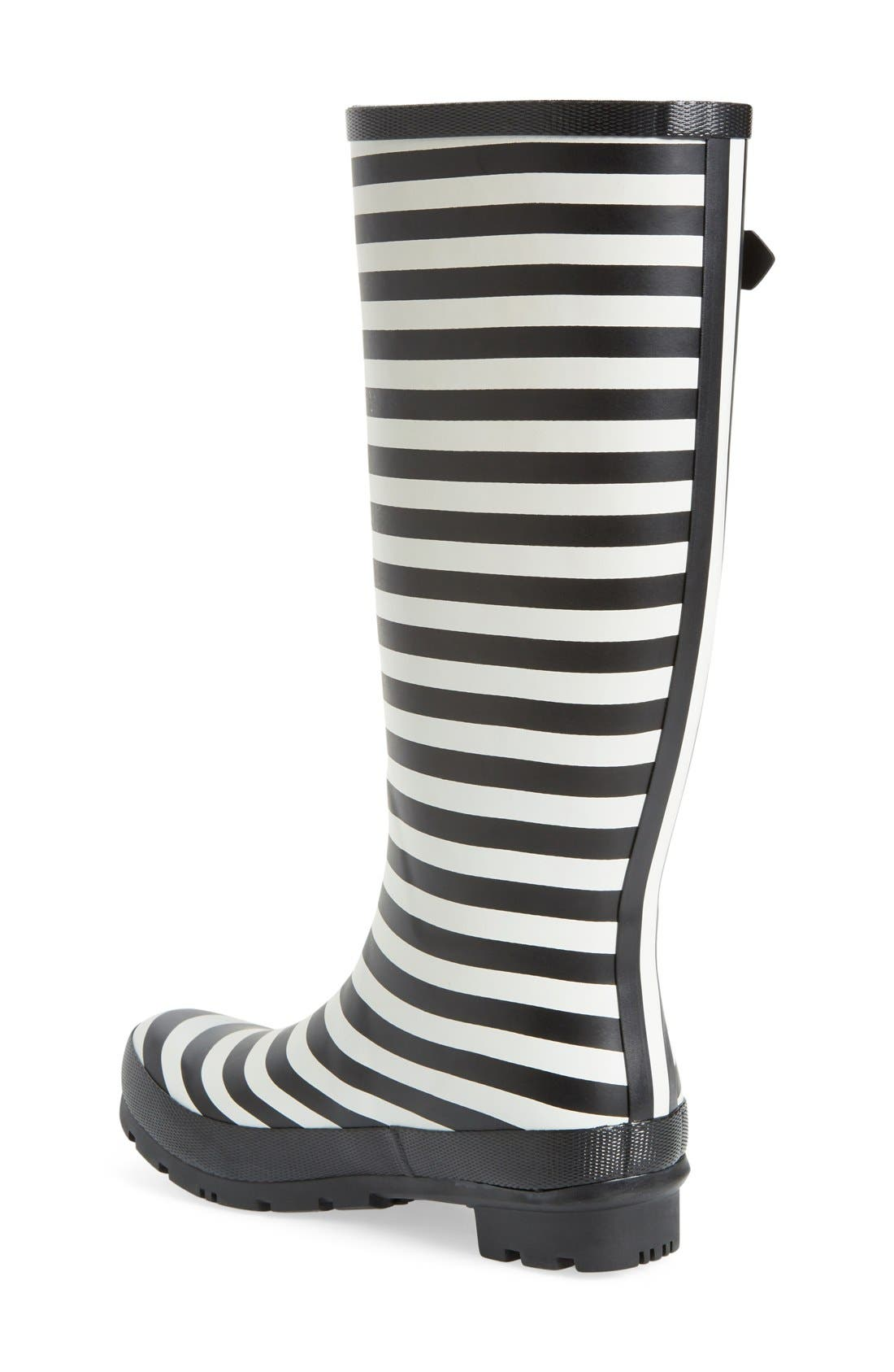 'Welly' Print Rain Boot,                             Alternate thumbnail 145, color,