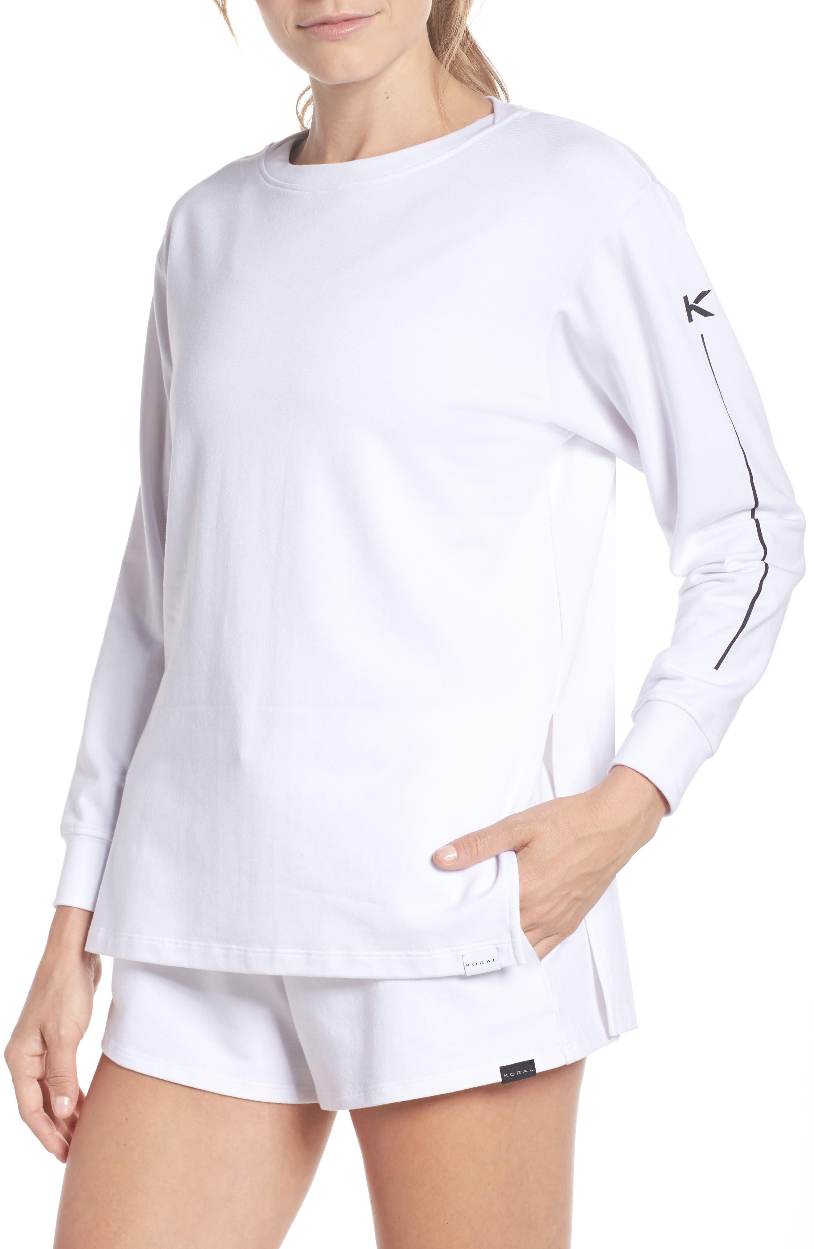 Bristol Pullover,                         Main,                         color, WHITE/ BLACK