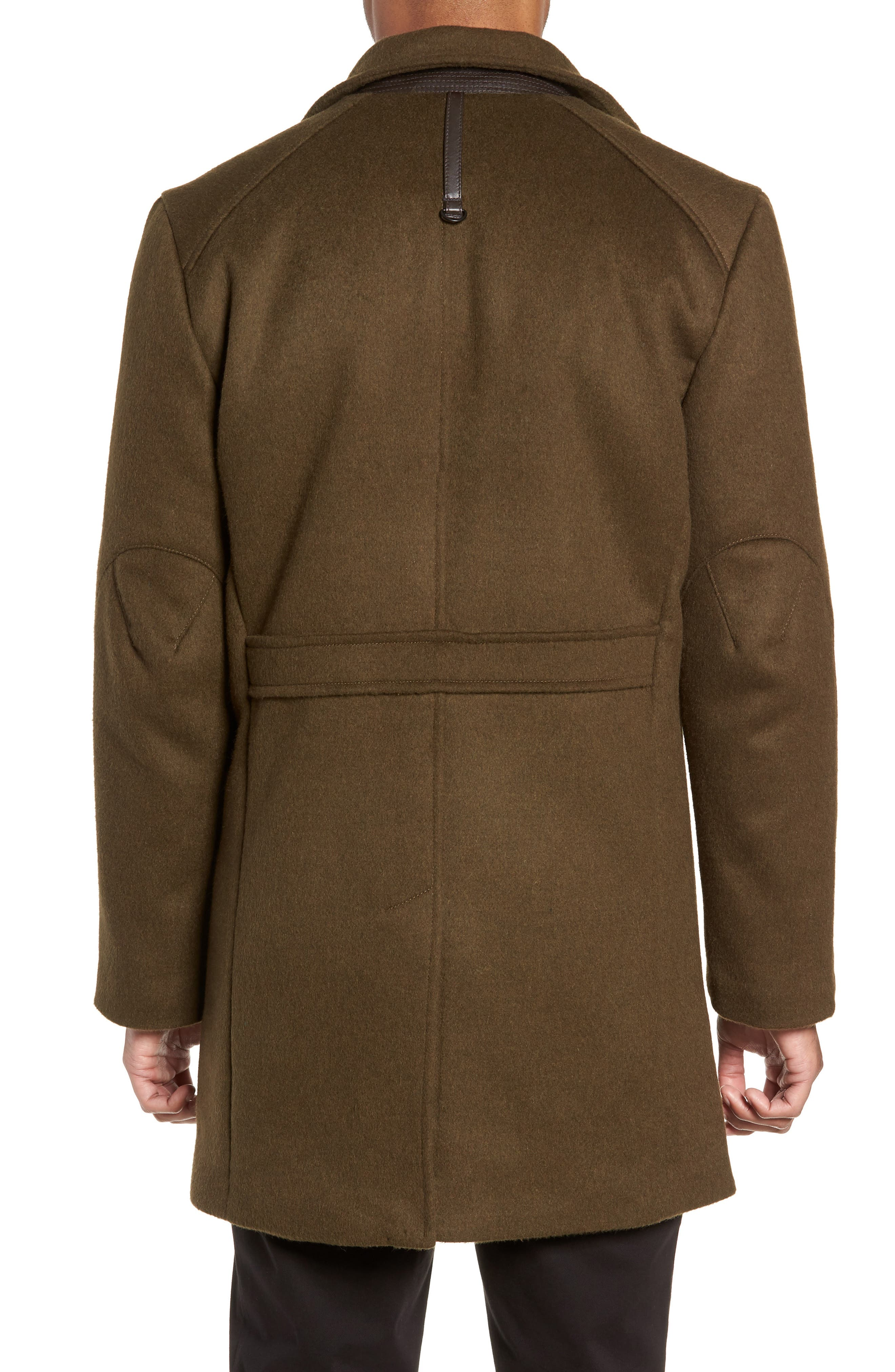 Kilo 3-in-1 Peacoat with Removable Quilted Jacket,                             Alternate thumbnail 3, color,                             OLIVE