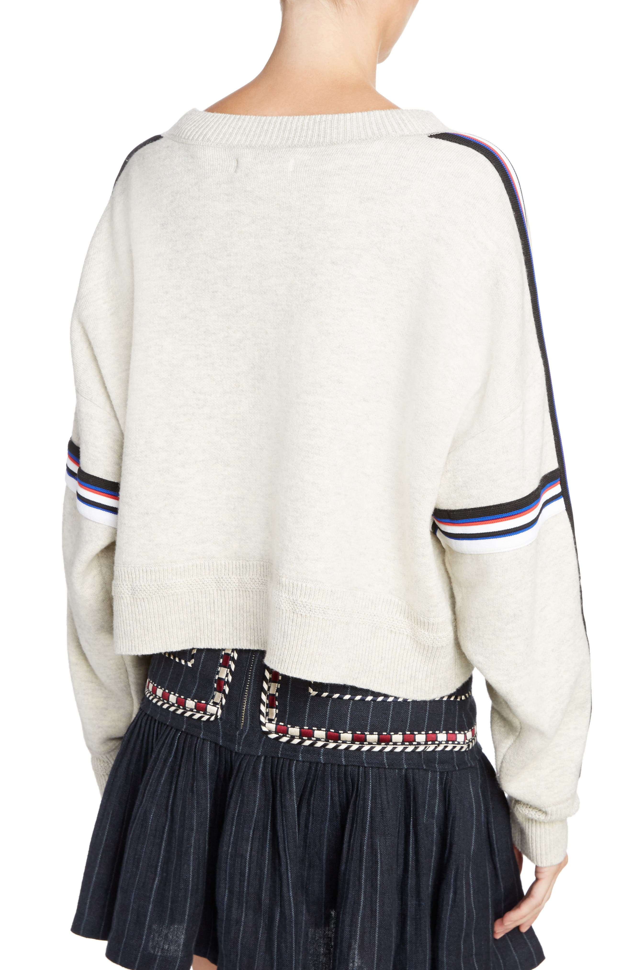 Isabel Marant Étoile Kao Sweatshirt,                             Alternate thumbnail 2, color,