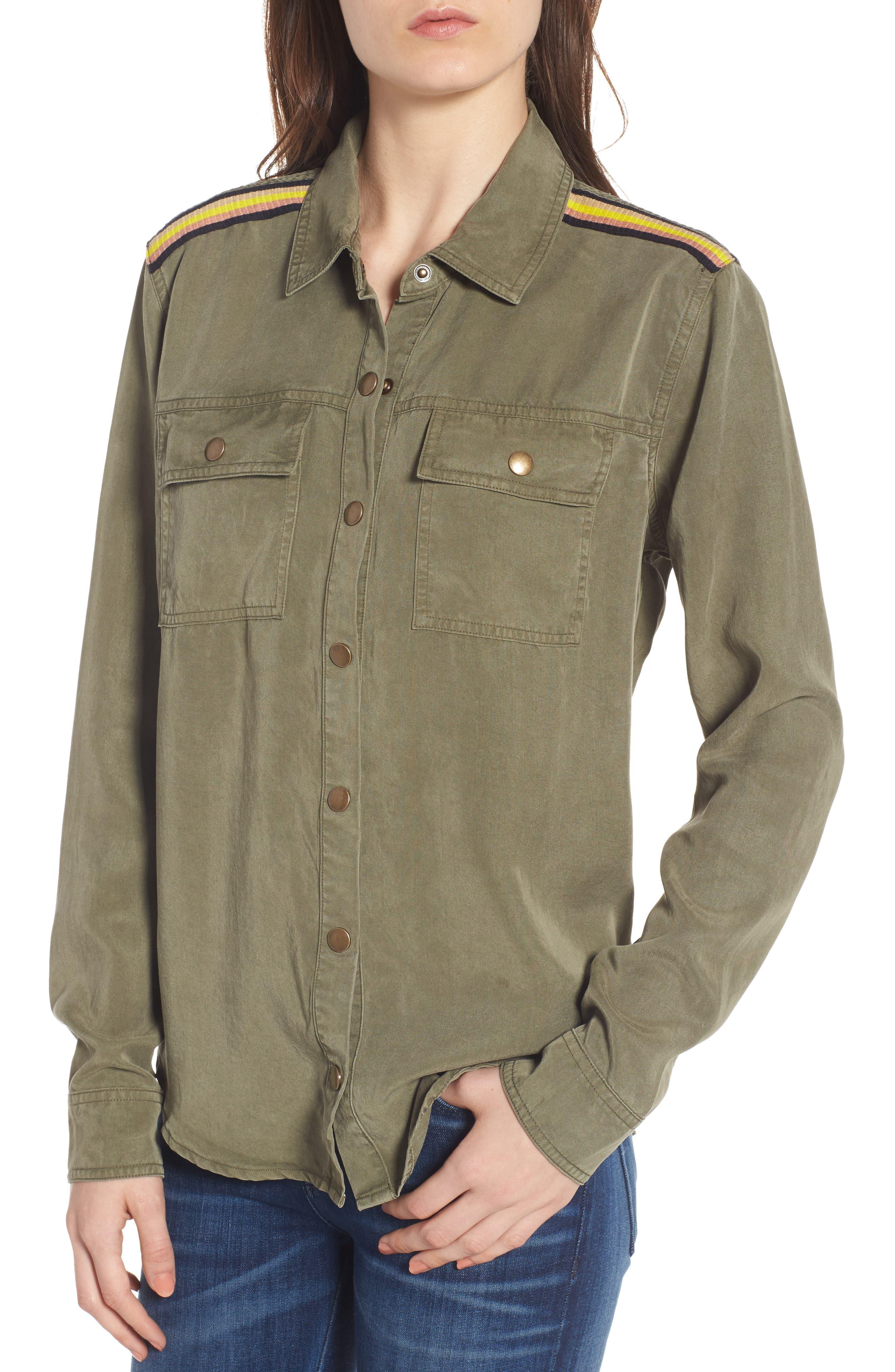 Military Shirt,                             Alternate thumbnail 4, color,                             300