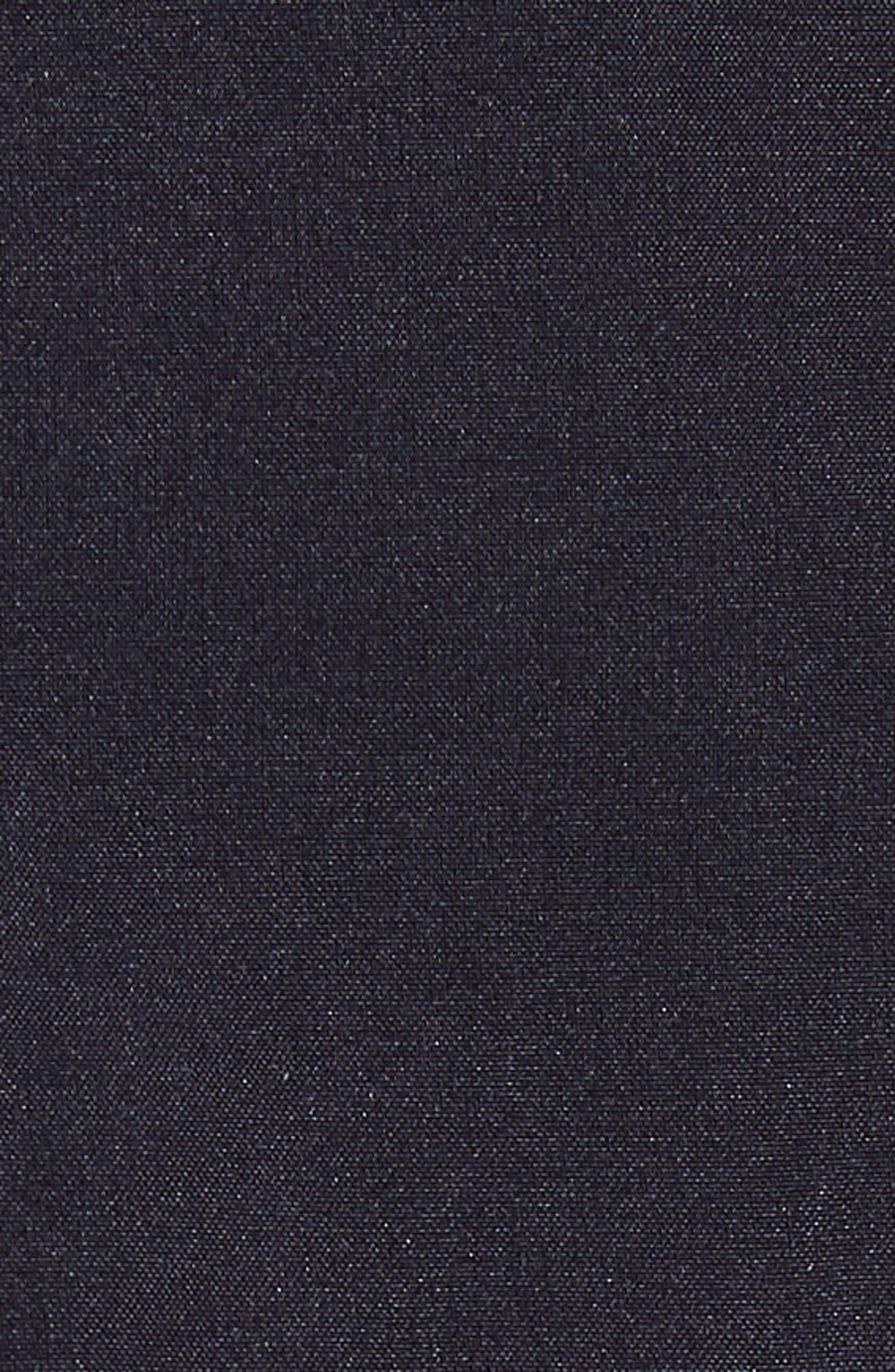 Phantom Surfcheck Board Shorts,                             Alternate thumbnail 5, color,                             BLACK