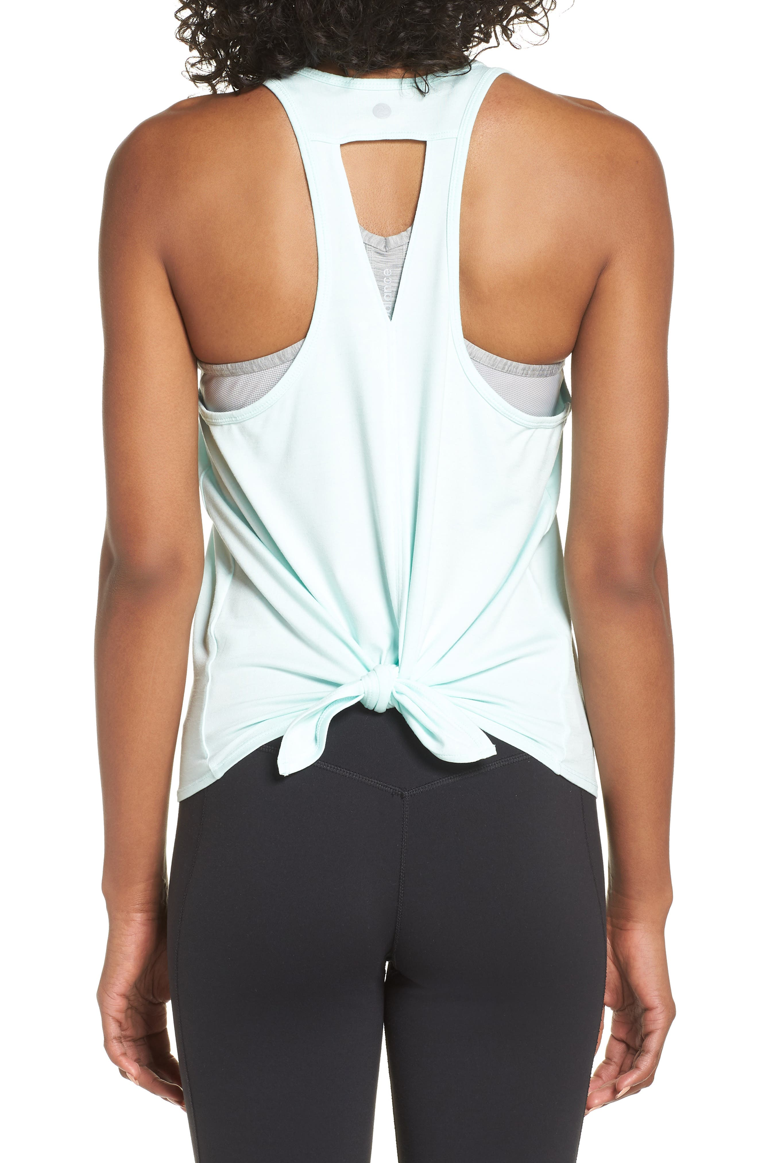 ZELLA,                             Intention Tank,                             Alternate thumbnail 2, color,                             TEAL FAIR