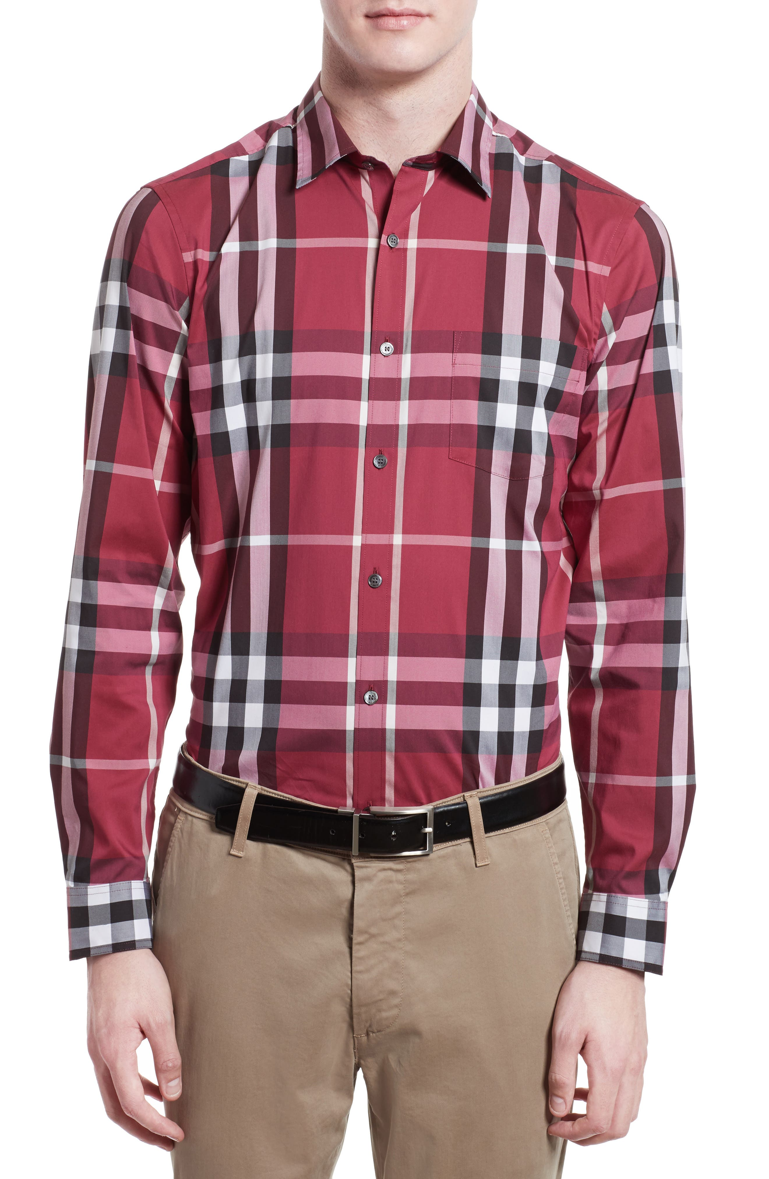Nelson Check Sport Shirt,                             Main thumbnail 25, color,