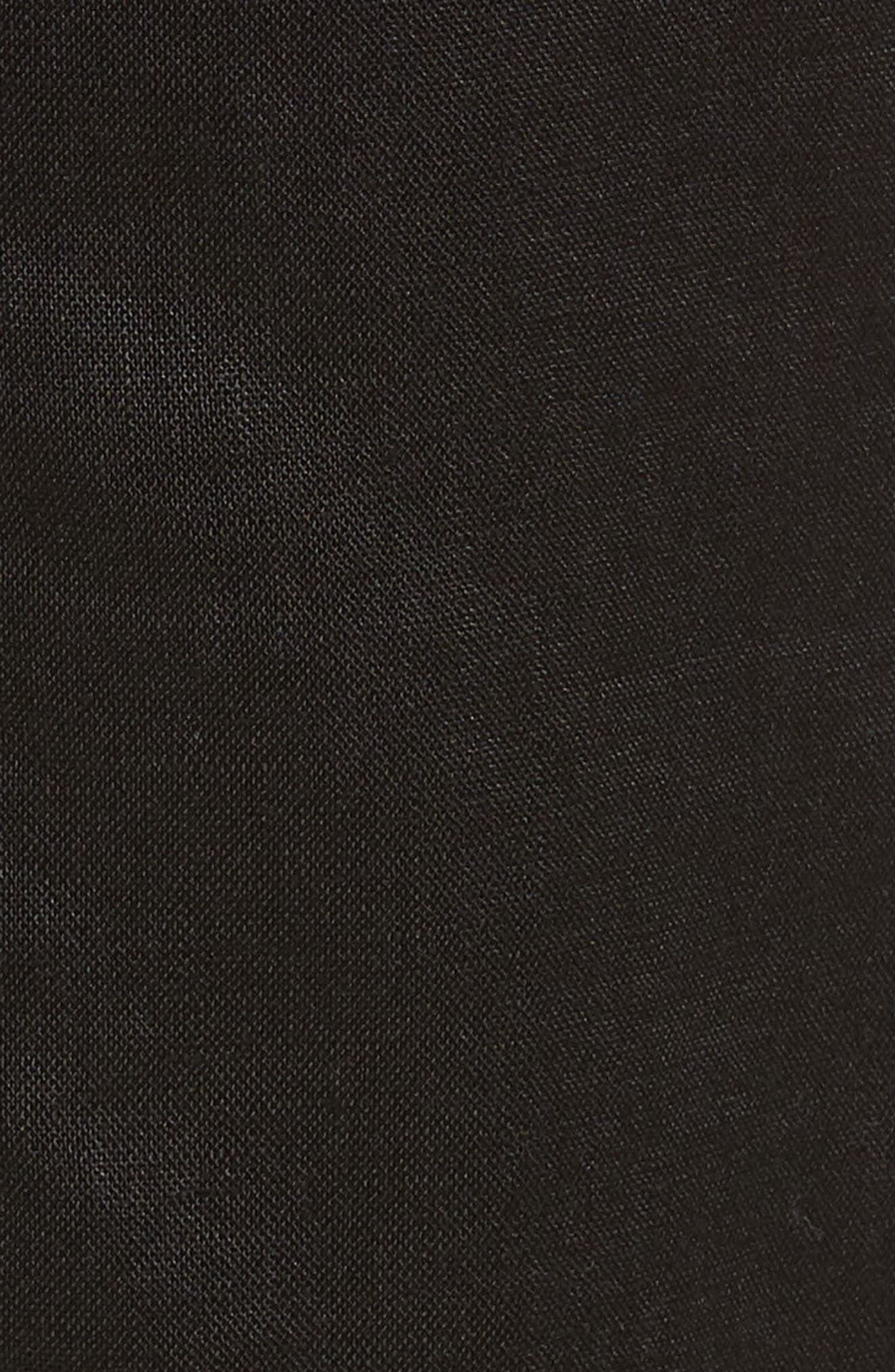 Organic Linen Crop Pants,                             Alternate thumbnail 18, color,