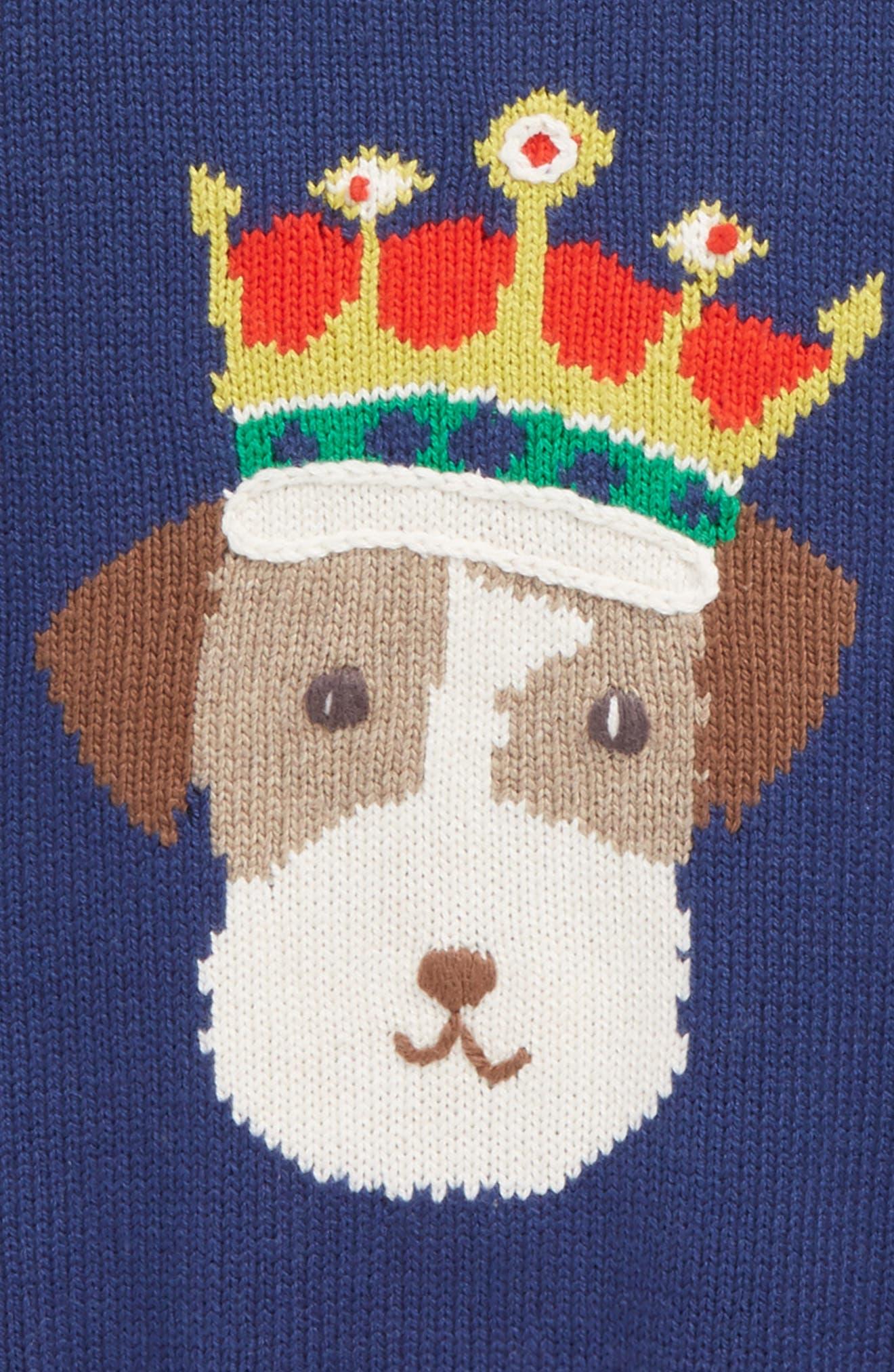 Fun Knit Sweater,                             Alternate thumbnail 6, color,