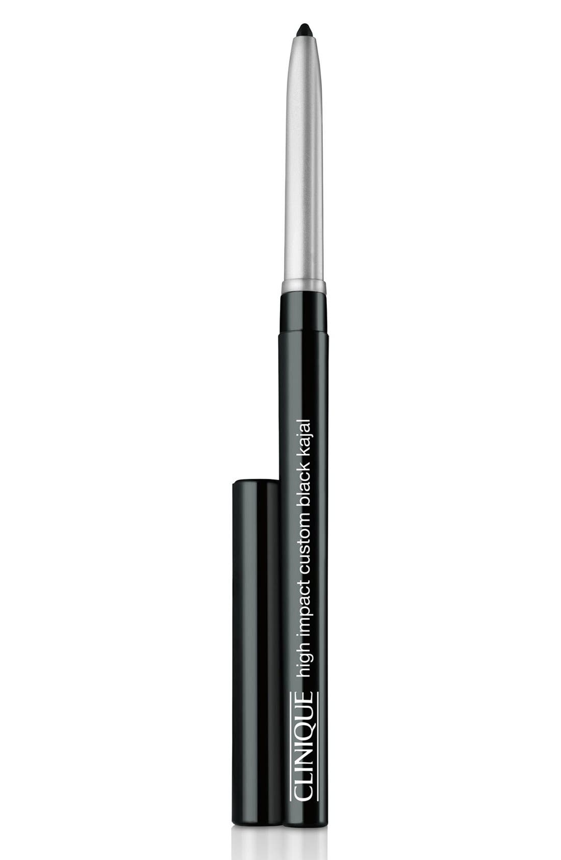 High Impact Custom Black Kajal Eyeliner Pencil,                         Main,                         color, BLACK