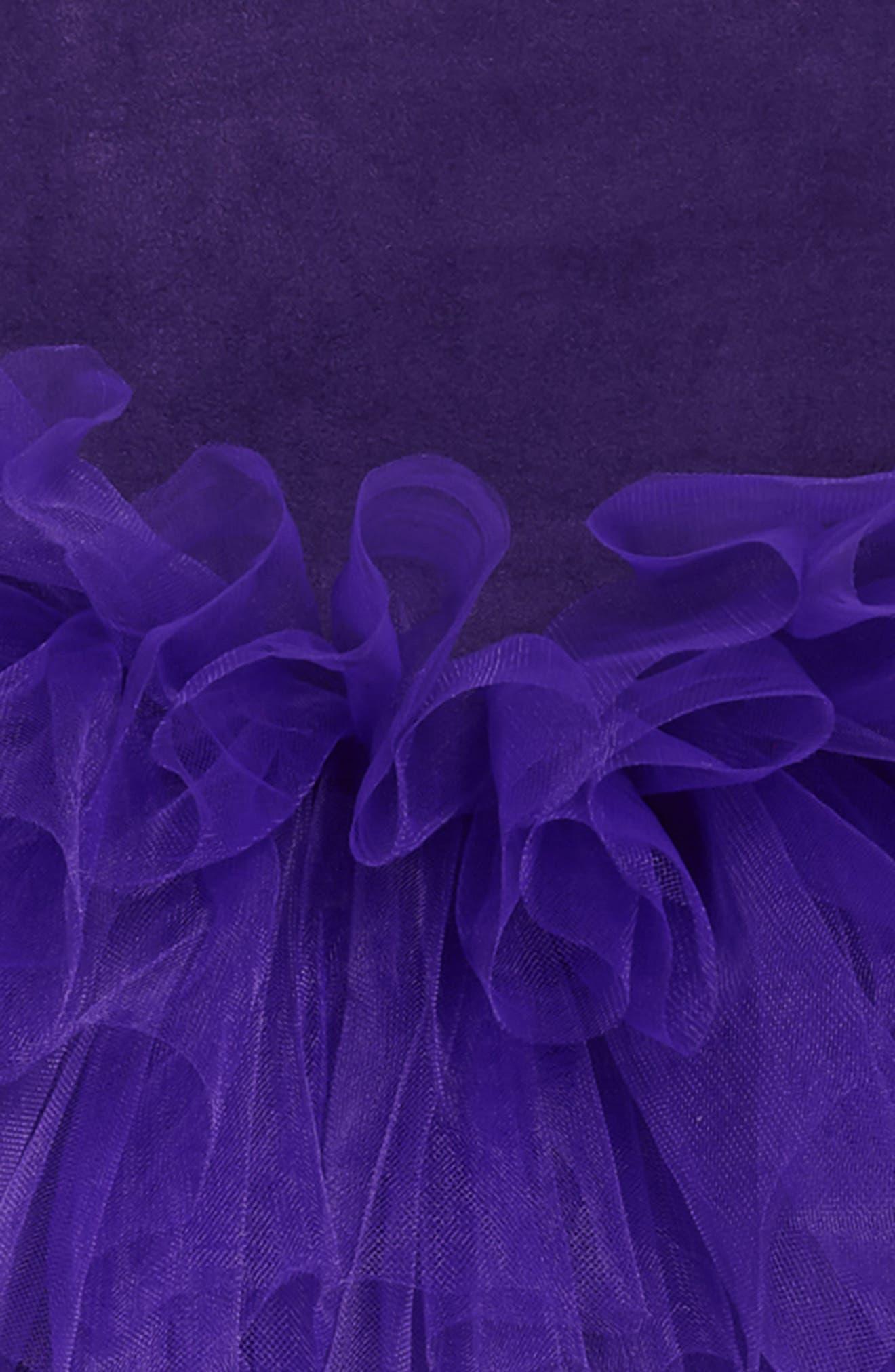 Tutu Dress,                             Alternate thumbnail 3, color,                             PURPLE