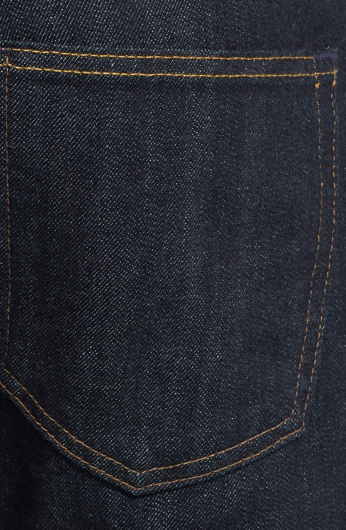 AG,                             'Nomad' Skinny Fit Selvedge Jeans,                             Alternate thumbnail 5, color,                             405