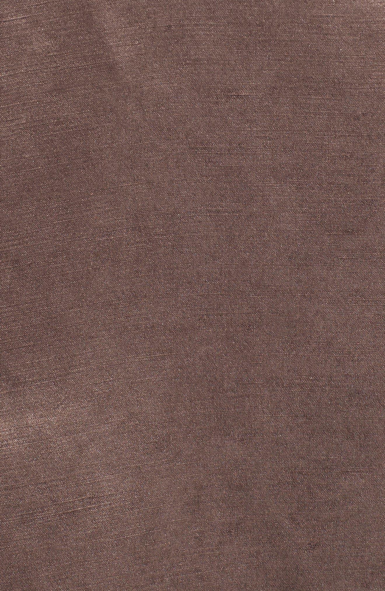 Organic Linen & Silk Jacket,                             Alternate thumbnail 5, color,                             200