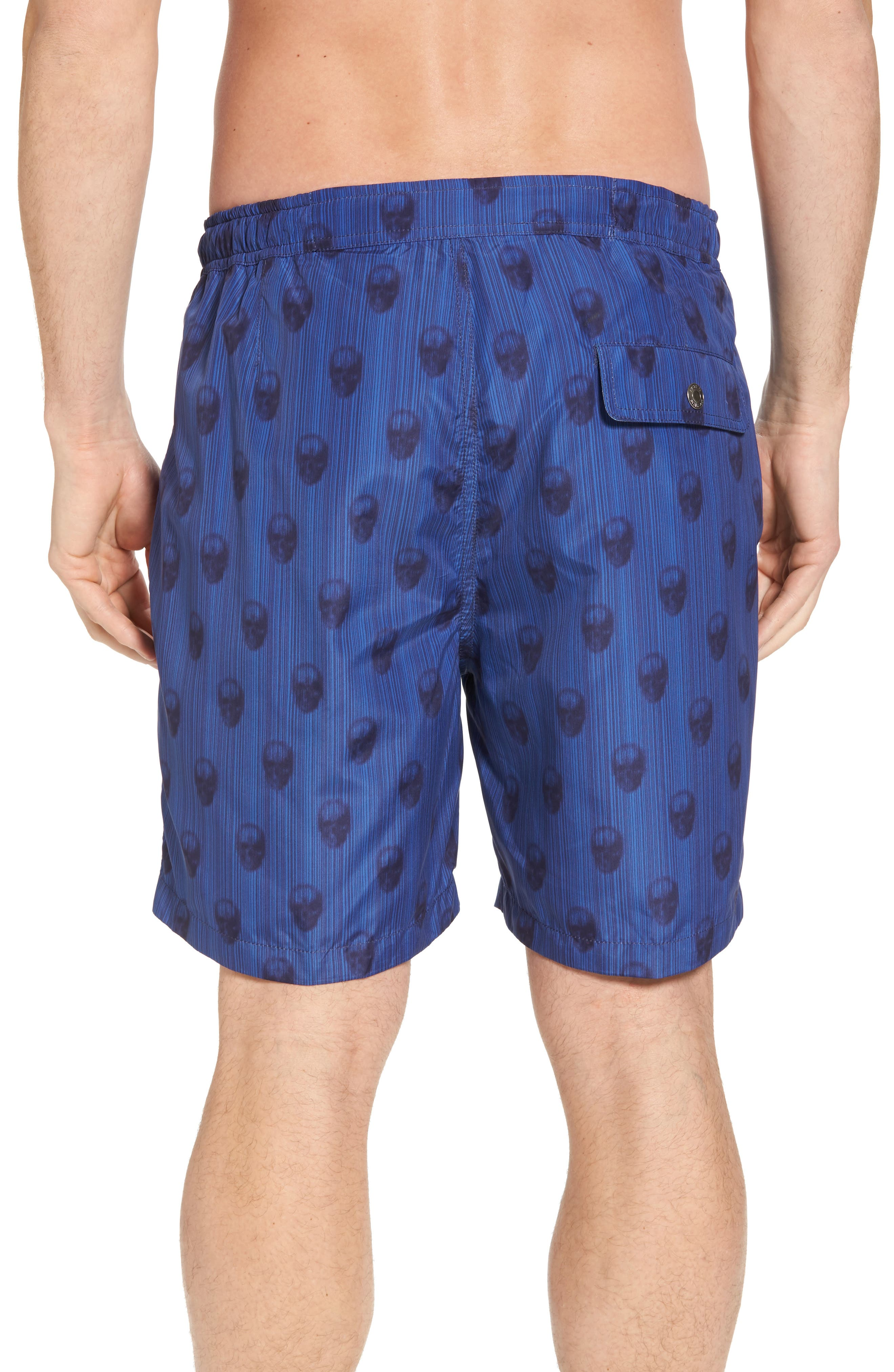 Peter Millar Black Jack's Bay Swim Trunks,                             Alternate thumbnail 2, color,                             440