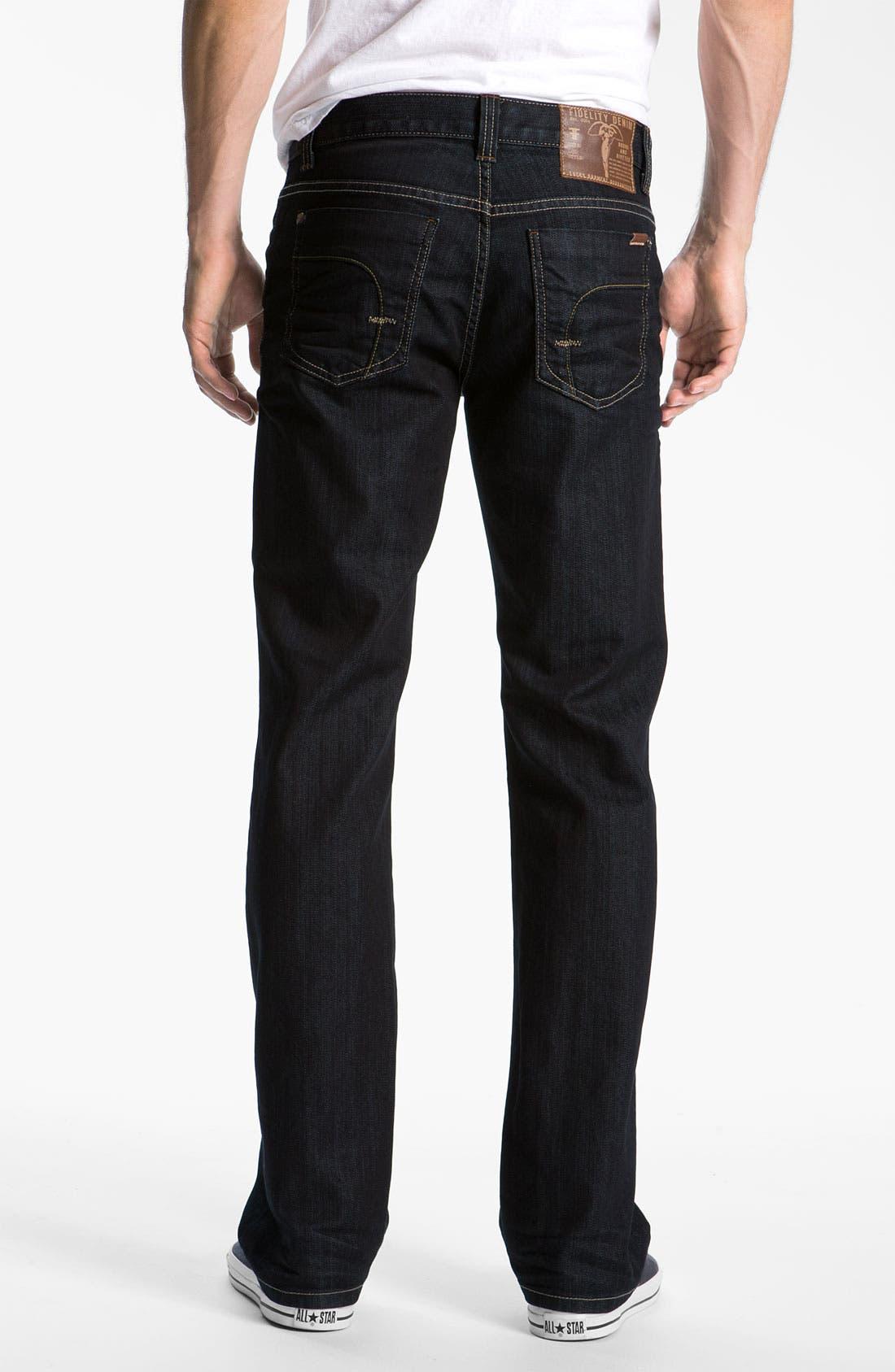 '50-11' Straight Leg Jeans,                             Alternate thumbnail 2, color,