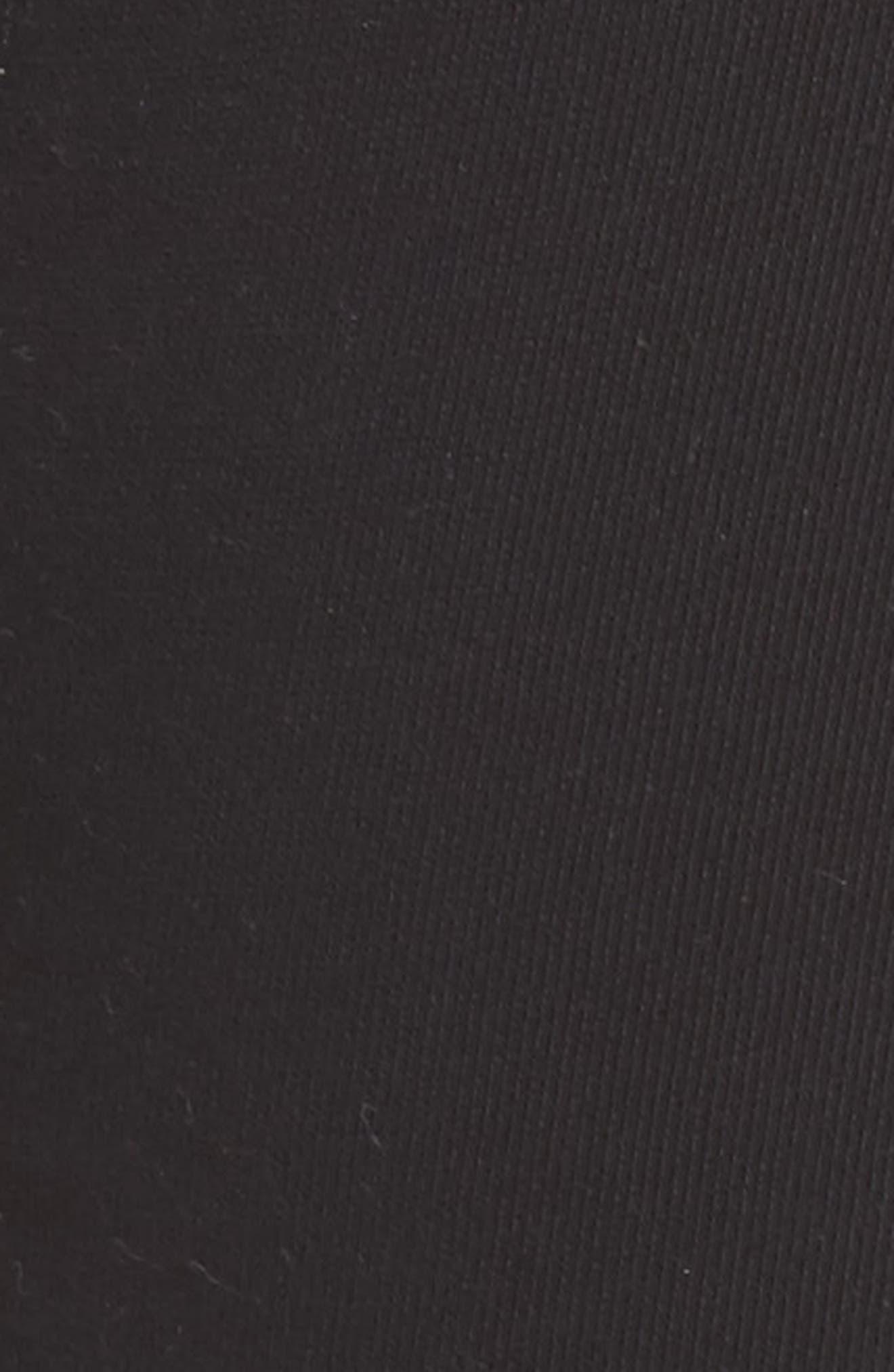 Lace Up Lounge Pants,                             Alternate thumbnail 5, color,                             001