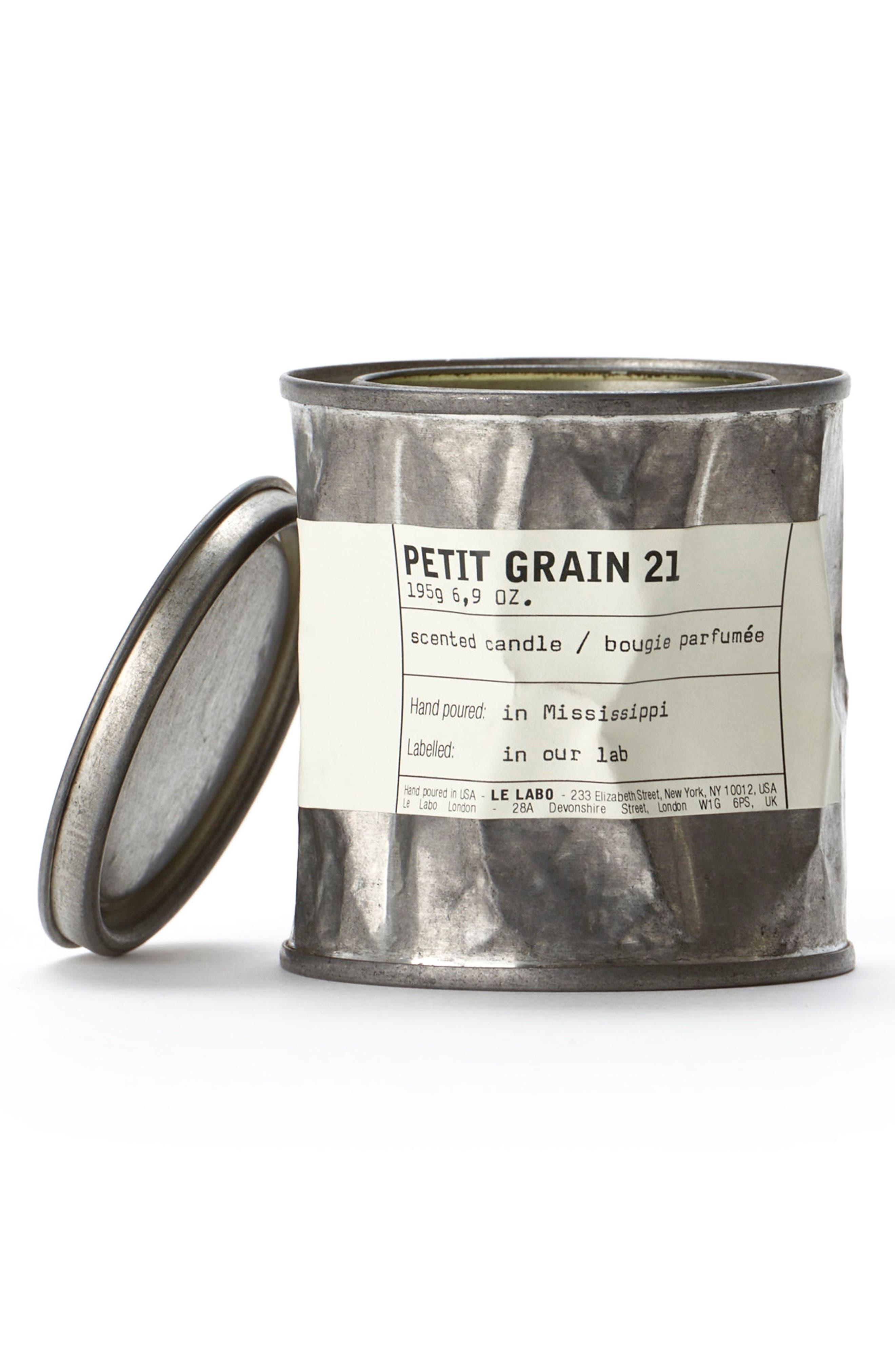 'Petit Grain 21' Vintage Tin Candle,                             Alternate thumbnail 2, color,                             NO COLOR