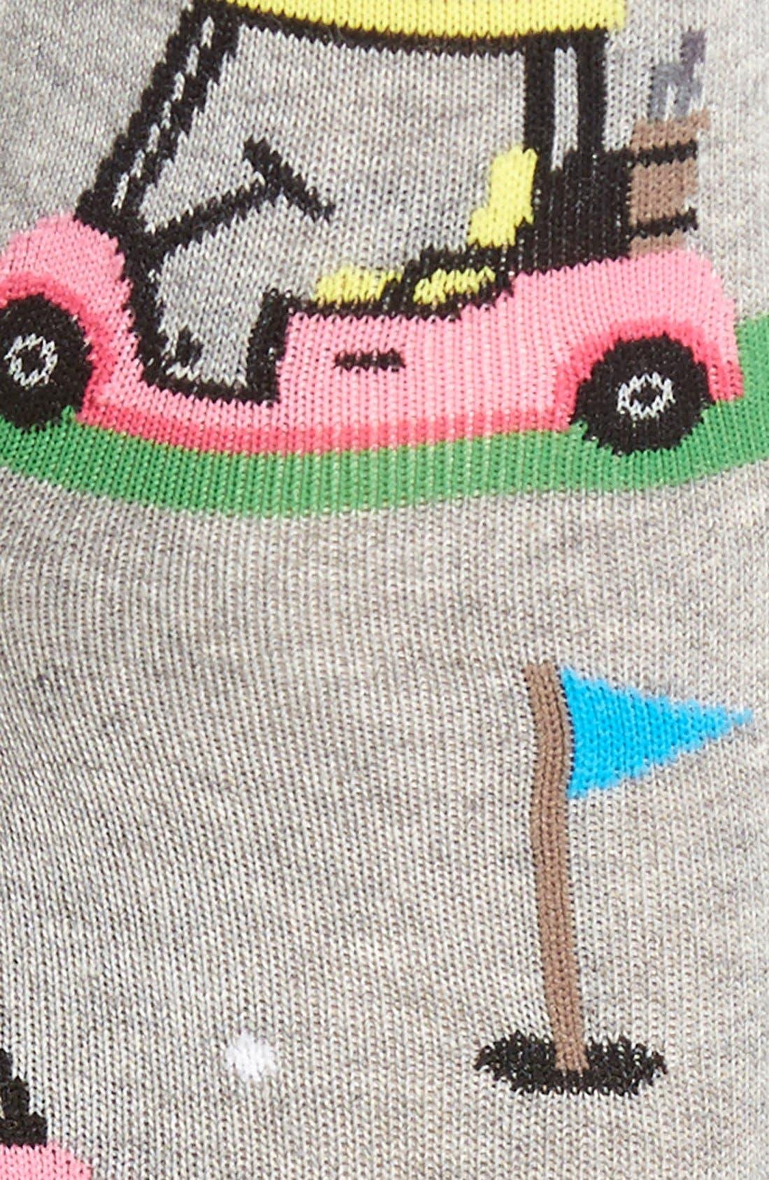 'Golf Carts' Crew Socks,                             Alternate thumbnail 3, color,