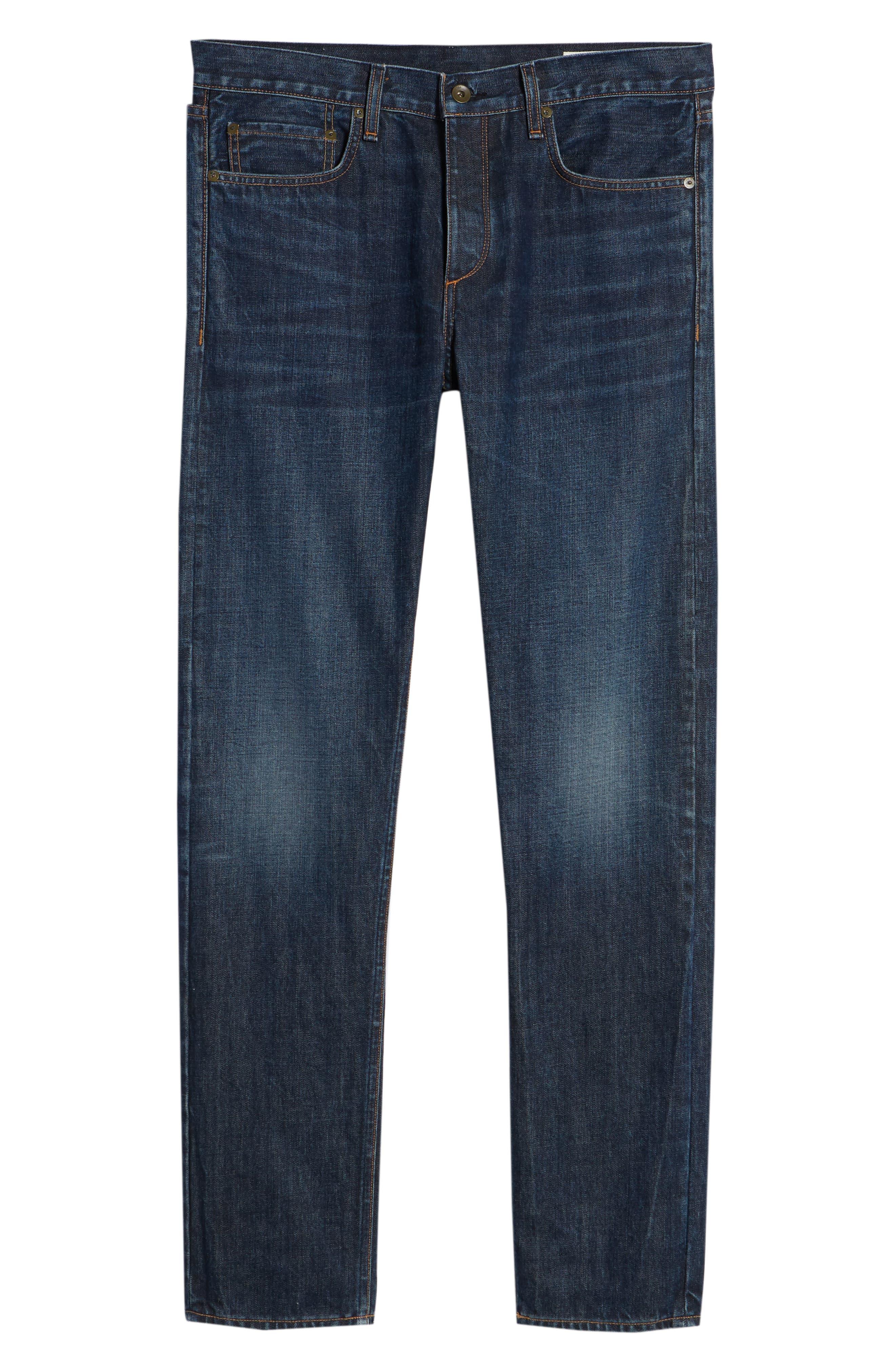 Fit 2 Slim Fit Jeans,                             Alternate thumbnail 6, color,                             GLASTONBURY