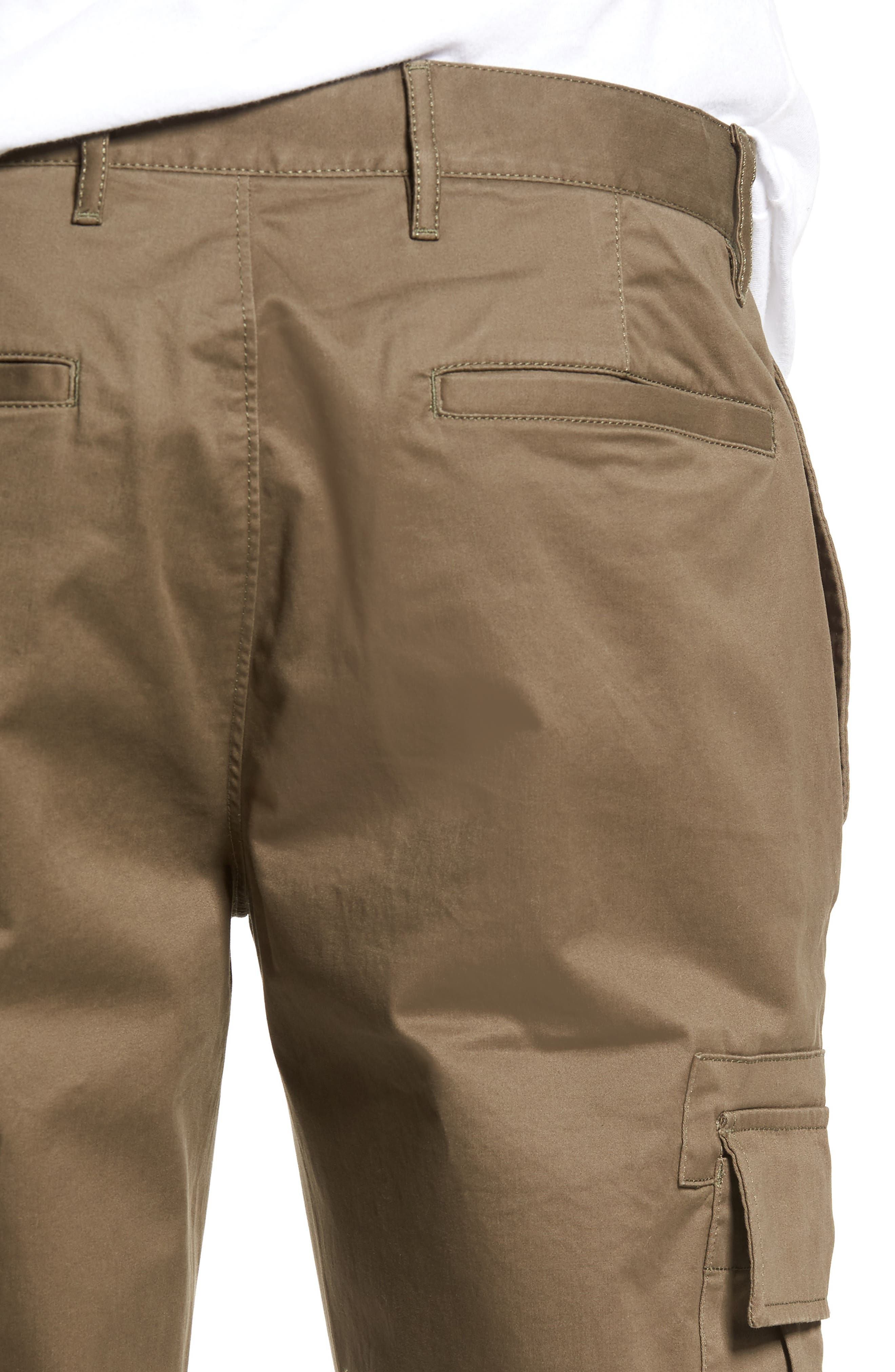 Crop Cargo Pants,                             Alternate thumbnail 4, color,                             311
