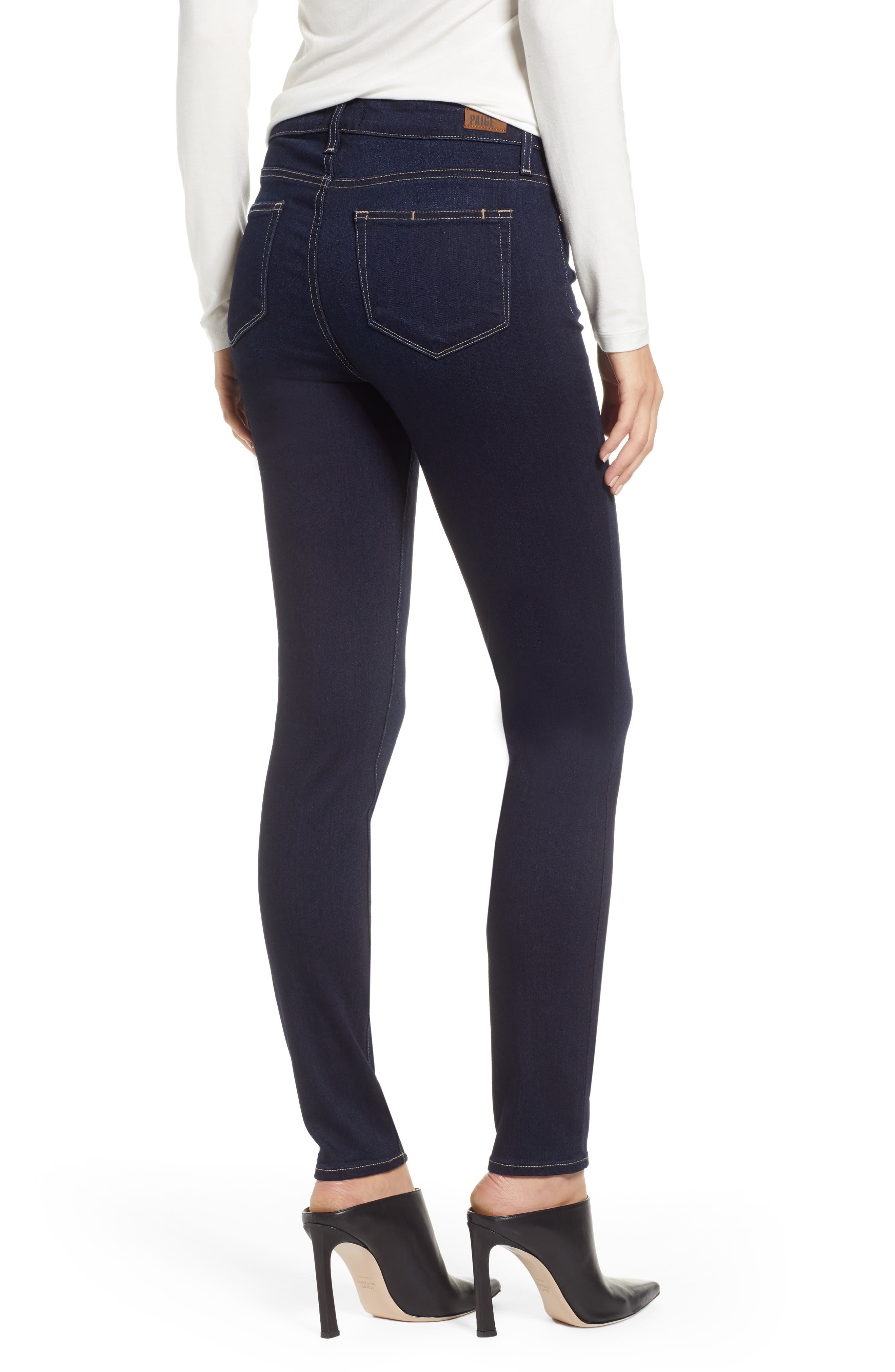 PAIGE,                             Transcend - Verdugo Ultra Skinny Jeans,                             Alternate thumbnail 2, color,                             ACADIA