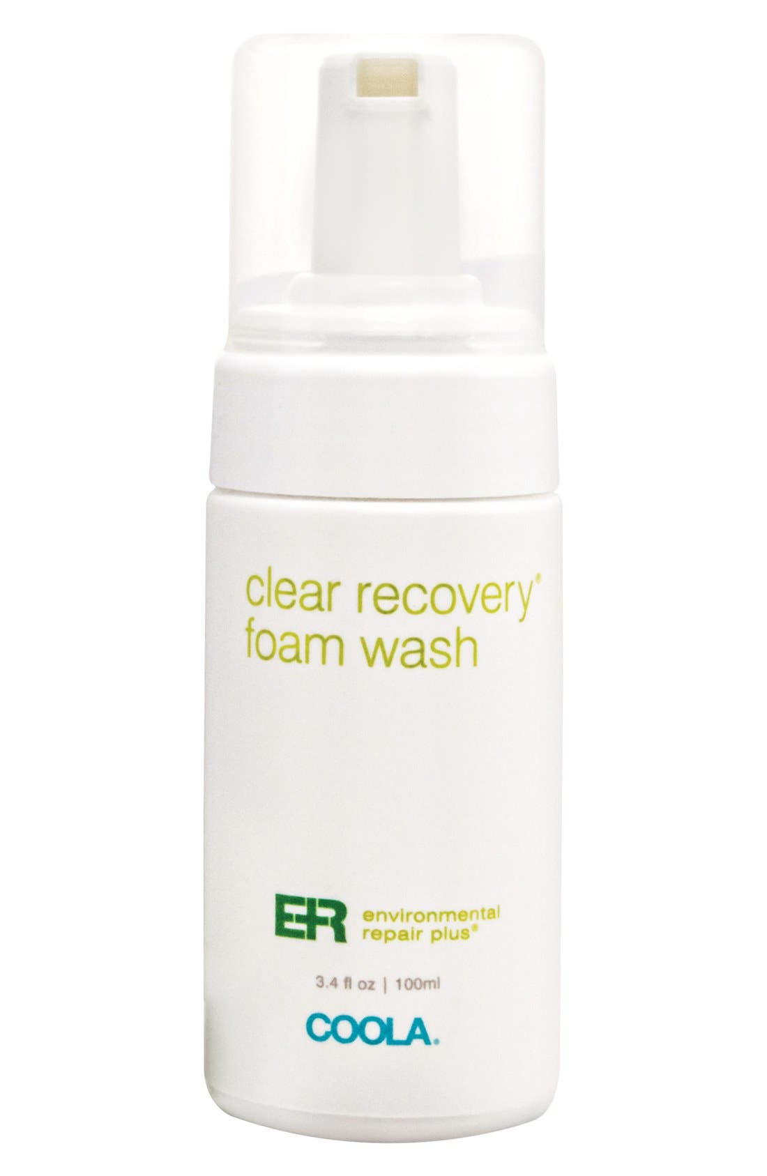 COOLA<sup>®</sup> Suncare Environmental Repair Plus<sup>®</sup> Clear Recovery<sup>™</sup> Foam Wash,                             Main thumbnail 1, color,                             000