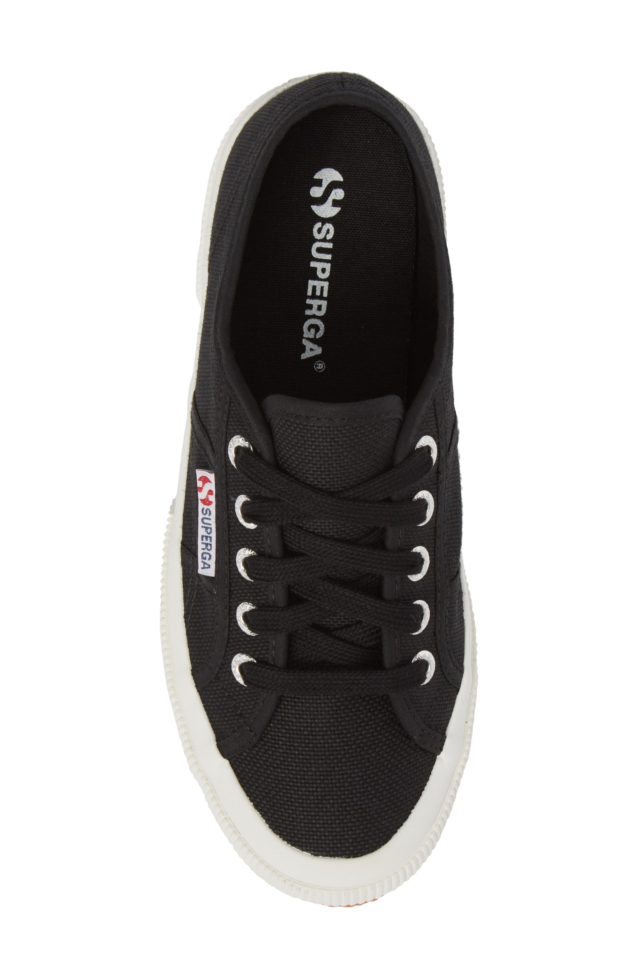 'Cotu' Sneaker,                             Alternate thumbnail 5, color,                             BLACK/ BLACK/ WHITE