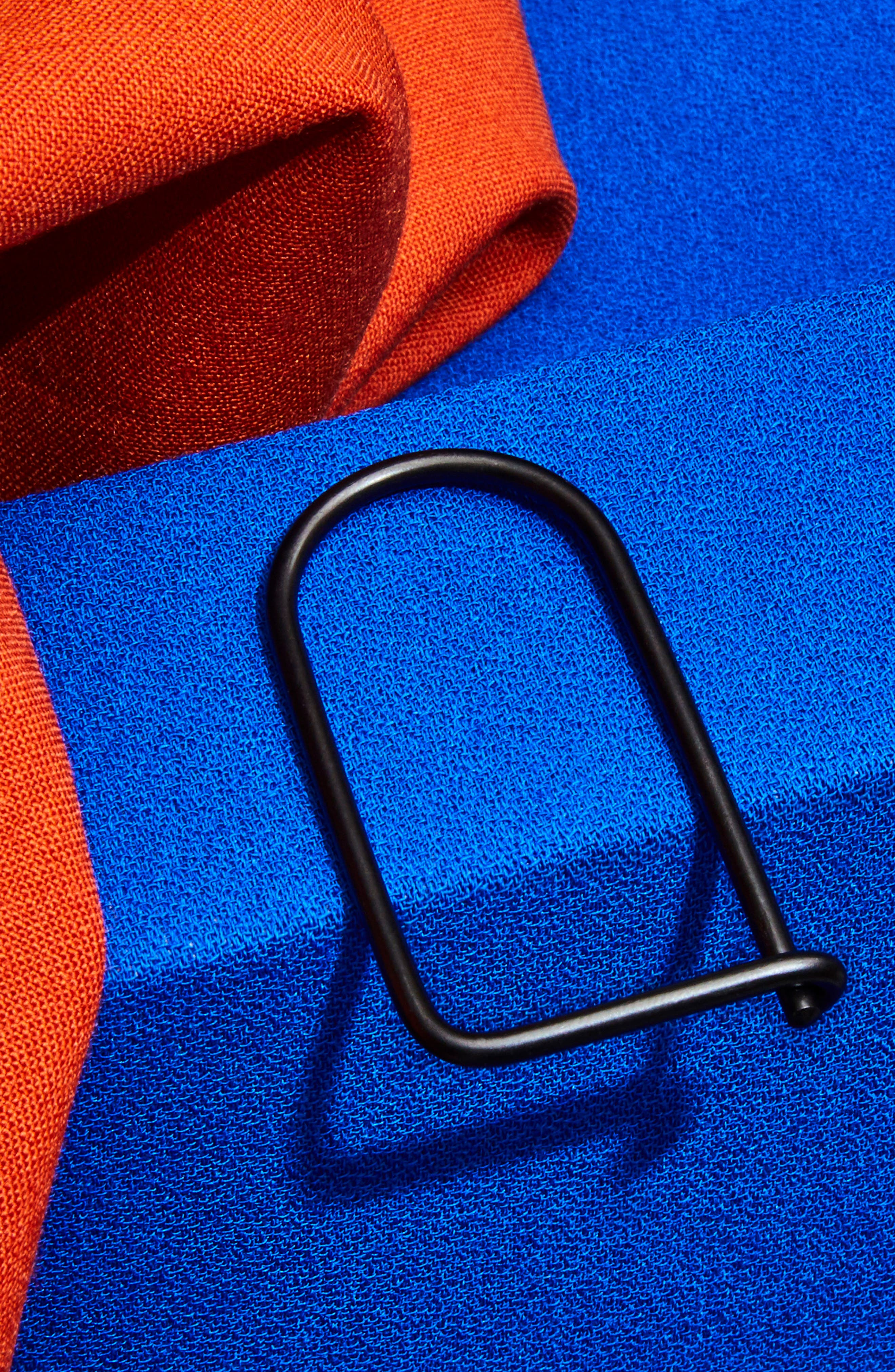 Wilson Carbon Black Steel Key Ring,                             Alternate thumbnail 5, color,                             040