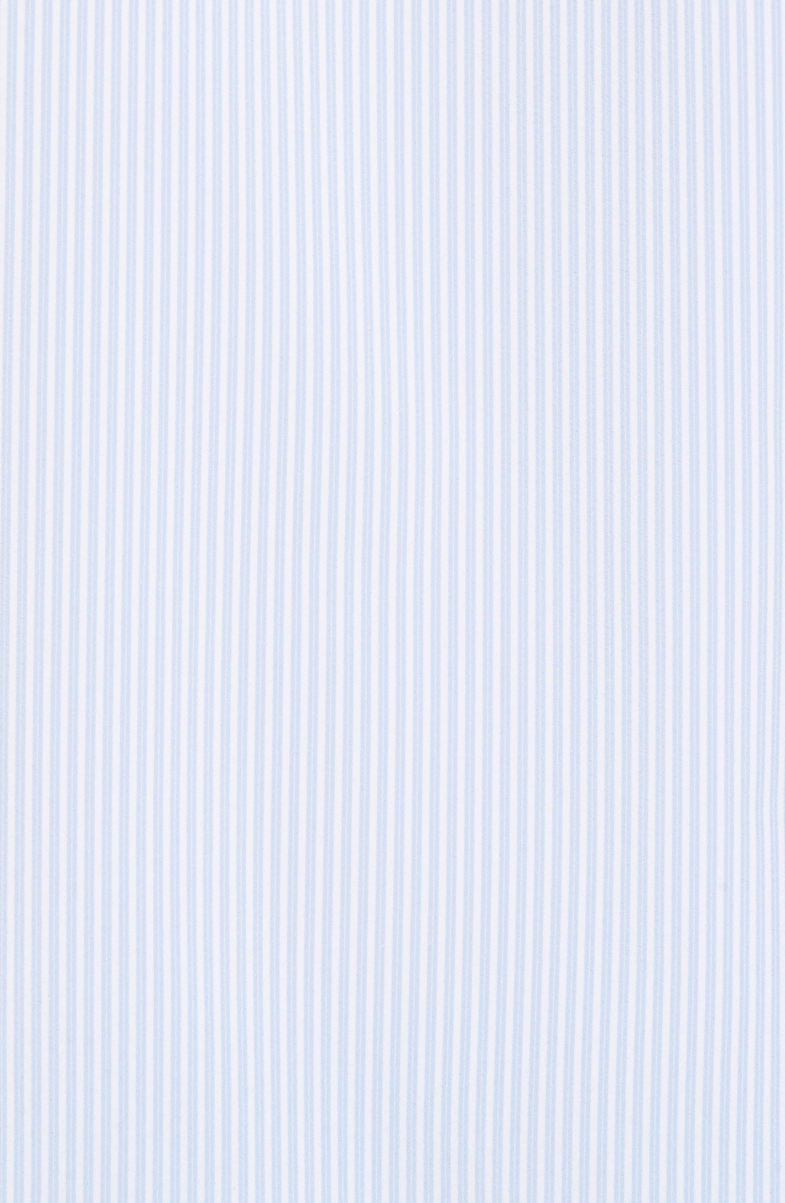Caldwell Slim Fit Stripe Sport Shirt,                             Alternate thumbnail 5, color,                             455