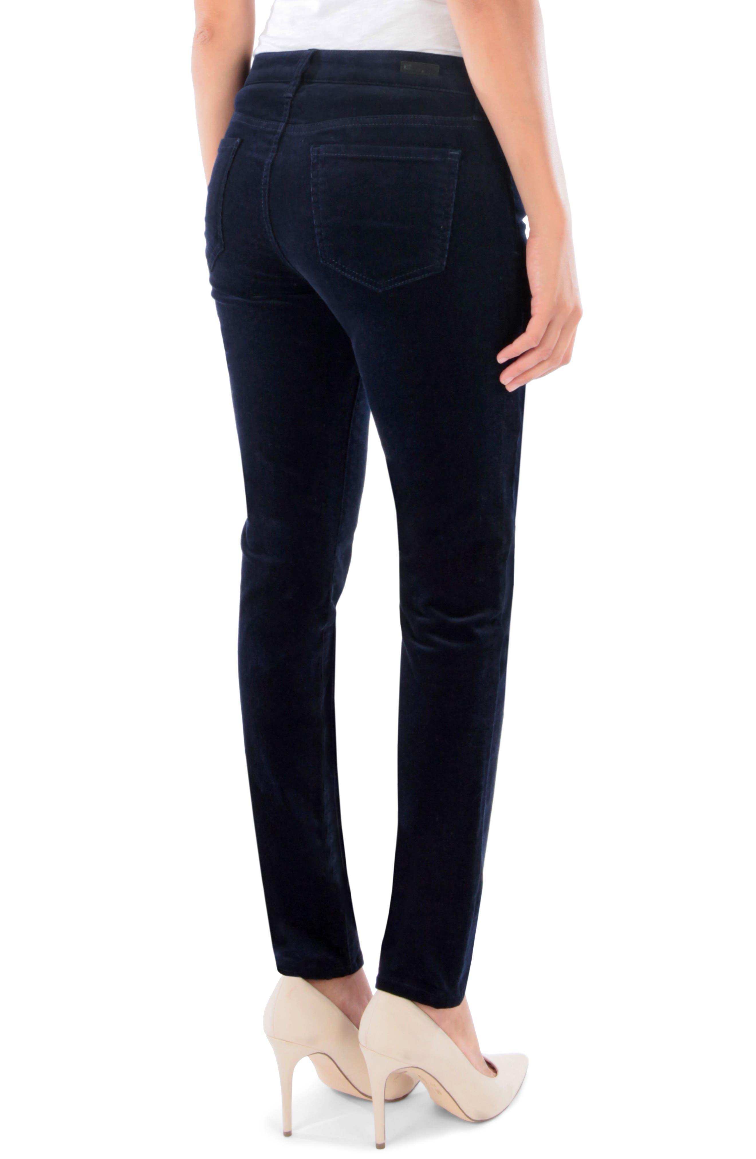 'Diana' Stretch Corduroy Skinny Pants,                             Alternate thumbnail 65, color,