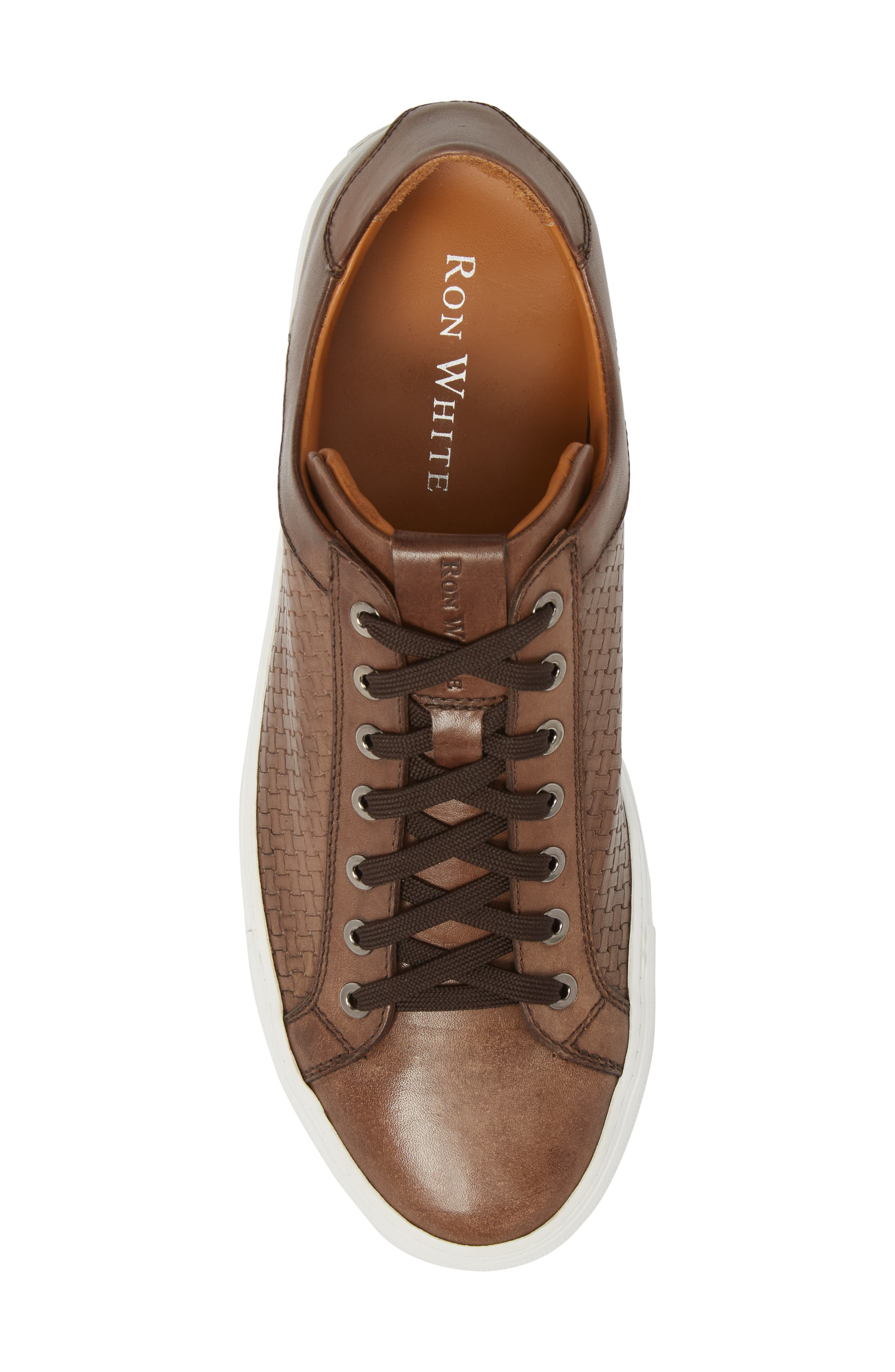 Diego Sneaker,                             Alternate thumbnail 5, color,                             WALNUT