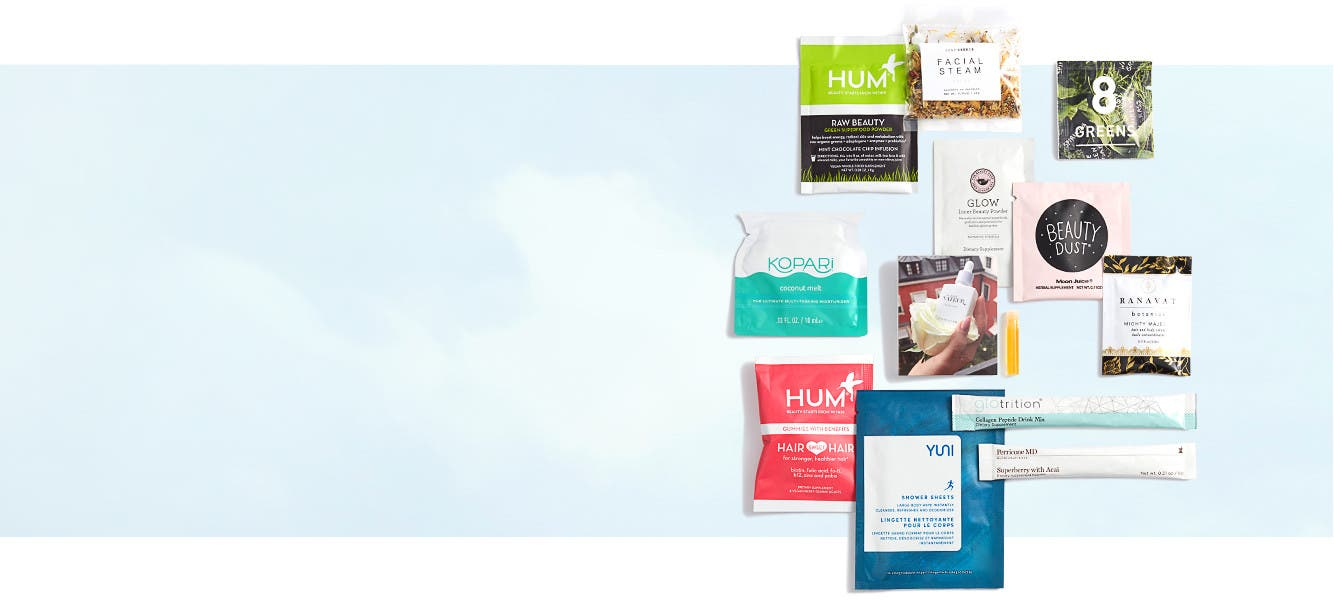 Get a free 12-piece gift with $75 Natural Beauty or Wellness purchase.