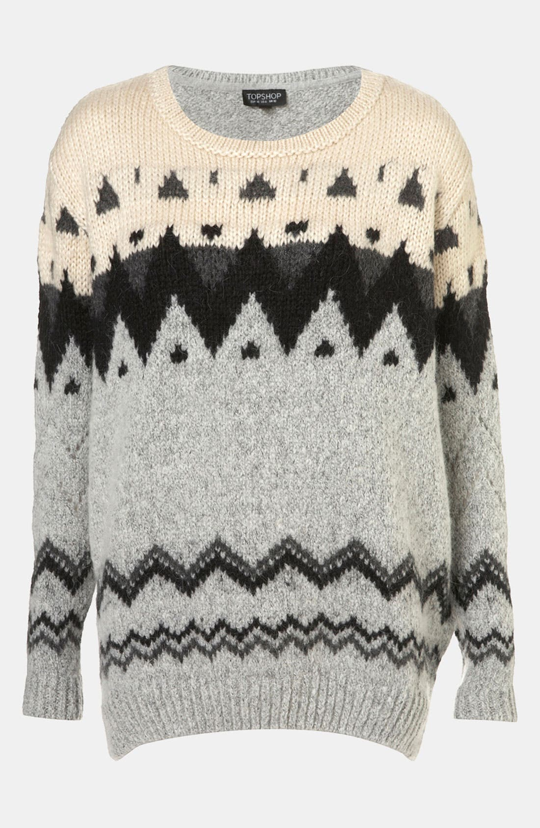 Nordic Knit Sweater,                             Main thumbnail 1, color,                             050