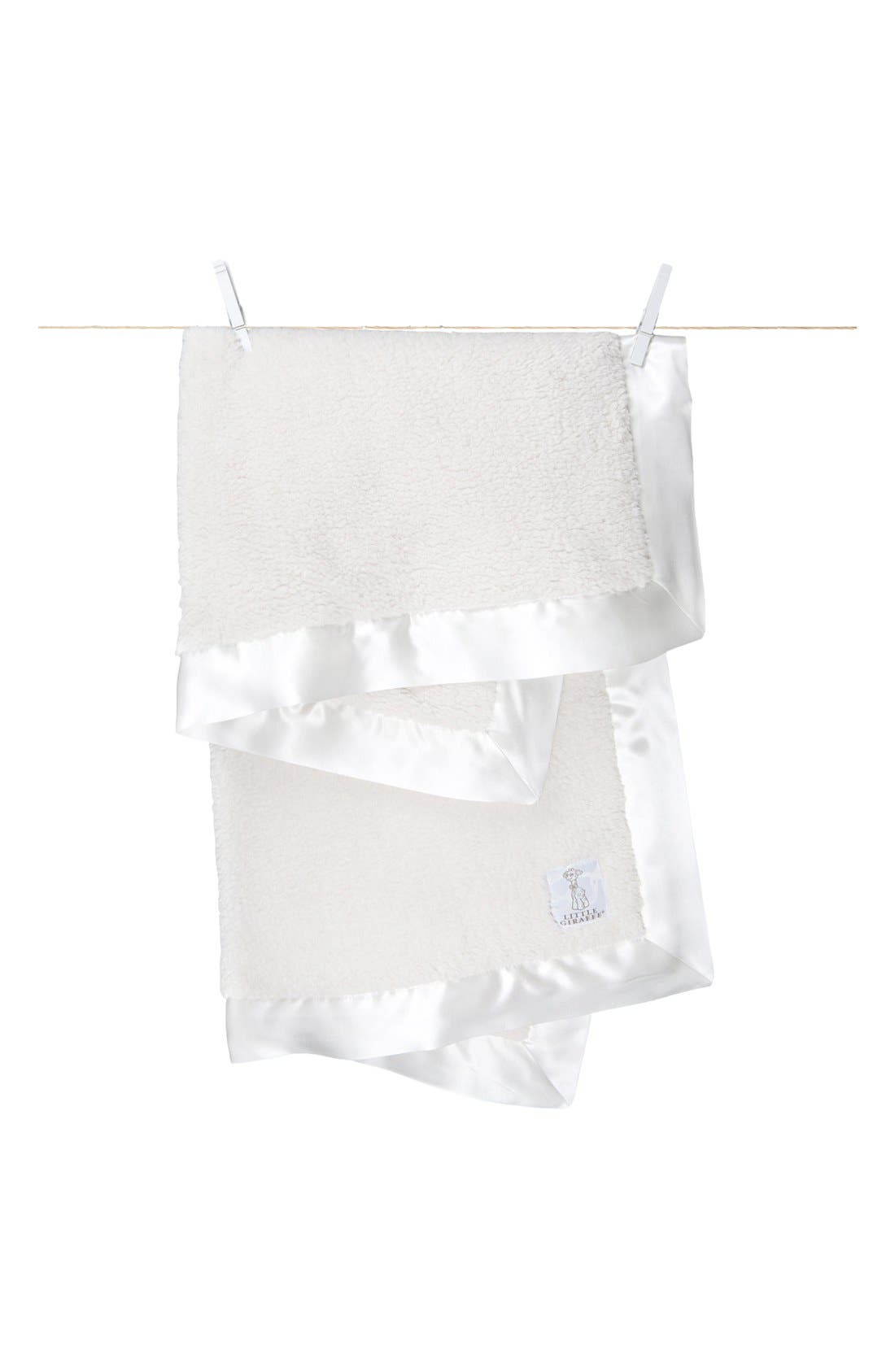 'Bella' Blanket,                         Main,                         color, Cream
