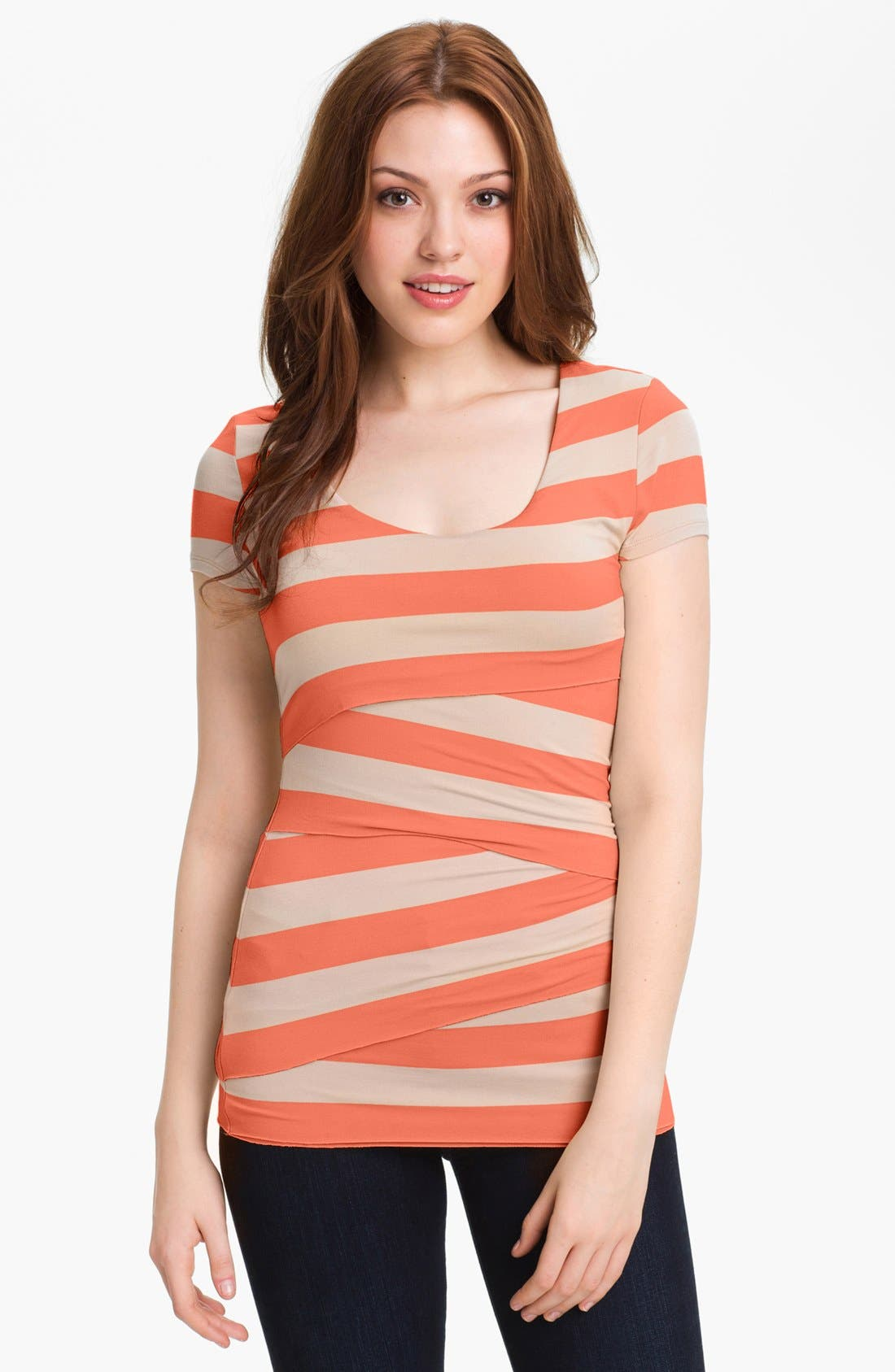 Stripe Bandage Top,                             Main thumbnail 6, color,