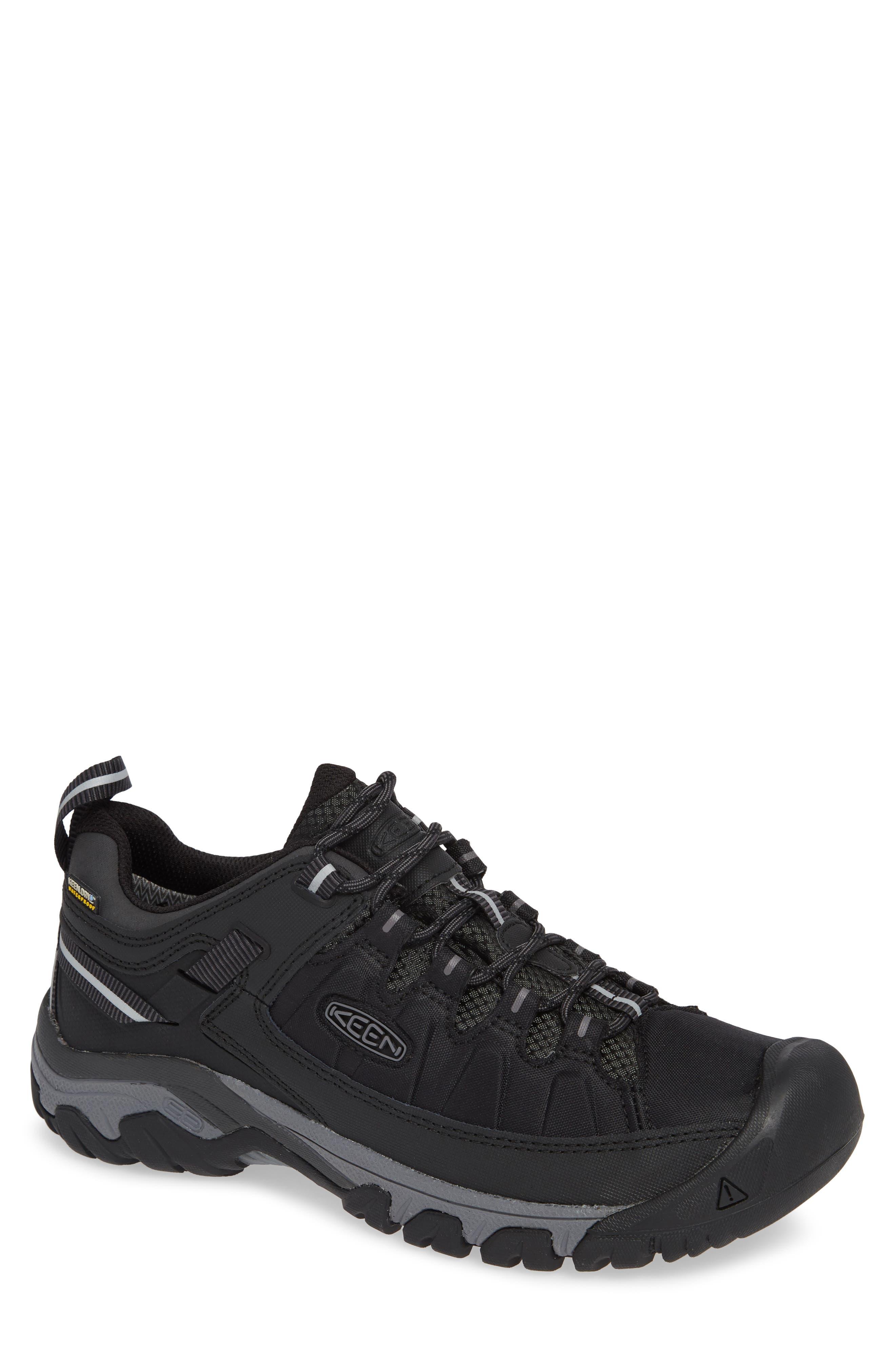Targhee EXP Waterproof Hiking Shoe,                             Main thumbnail 1, color,                             BLACK/ STEEL GREY