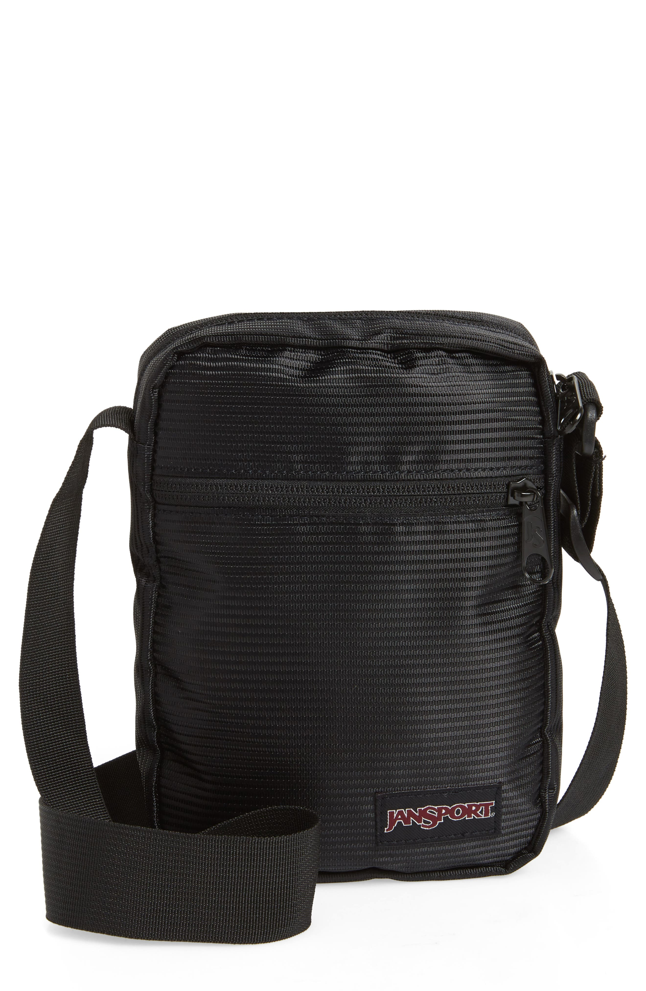 Crossbody FX Bag,                             Main thumbnail 1, color,                             BLACK LINE CORD