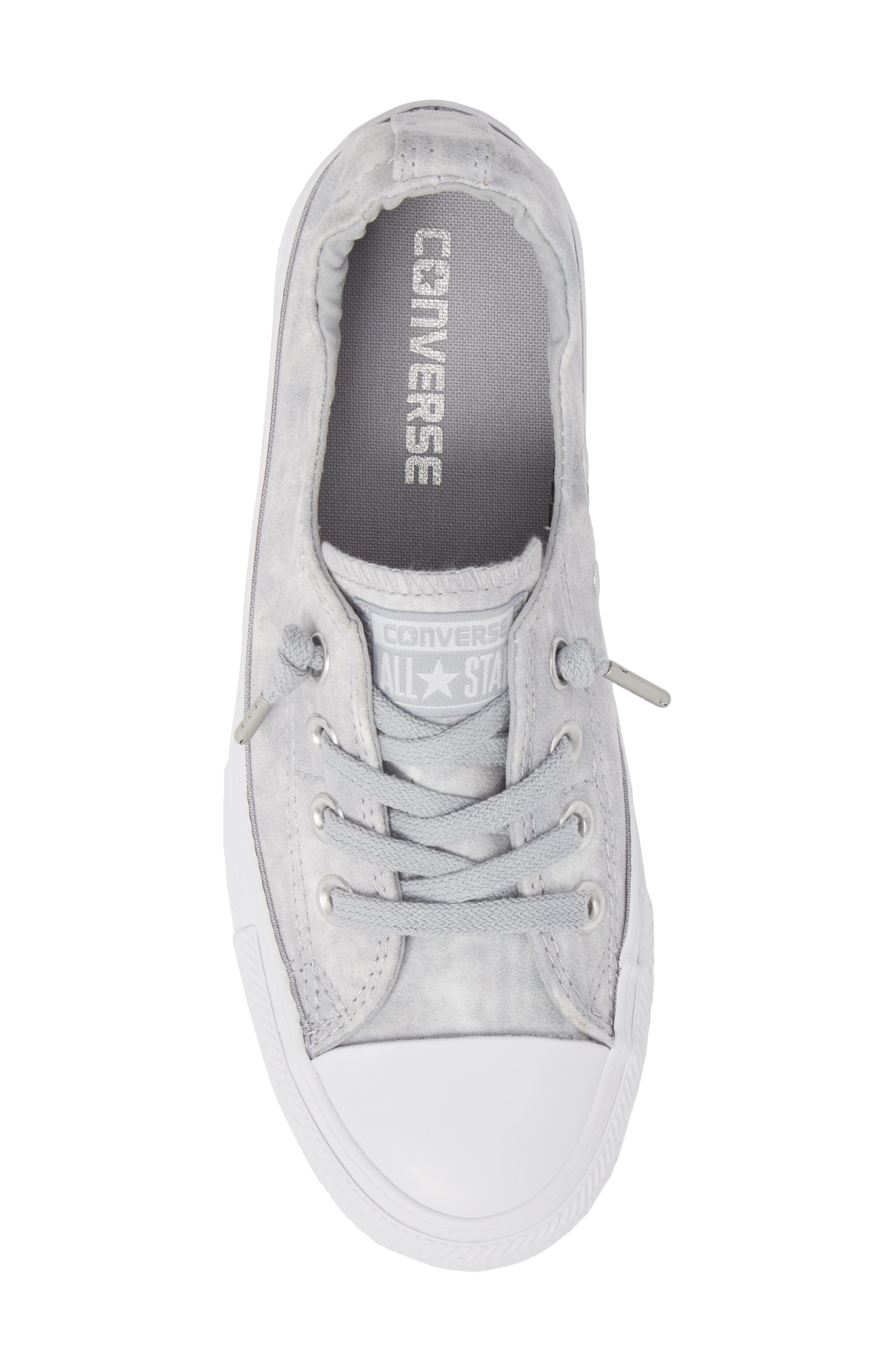 Chuck Taylor<sup>®</sup> All Star<sup>®</sup> Shoreline Peached Twill Sneaker,                             Alternate thumbnail 5, color,                             027