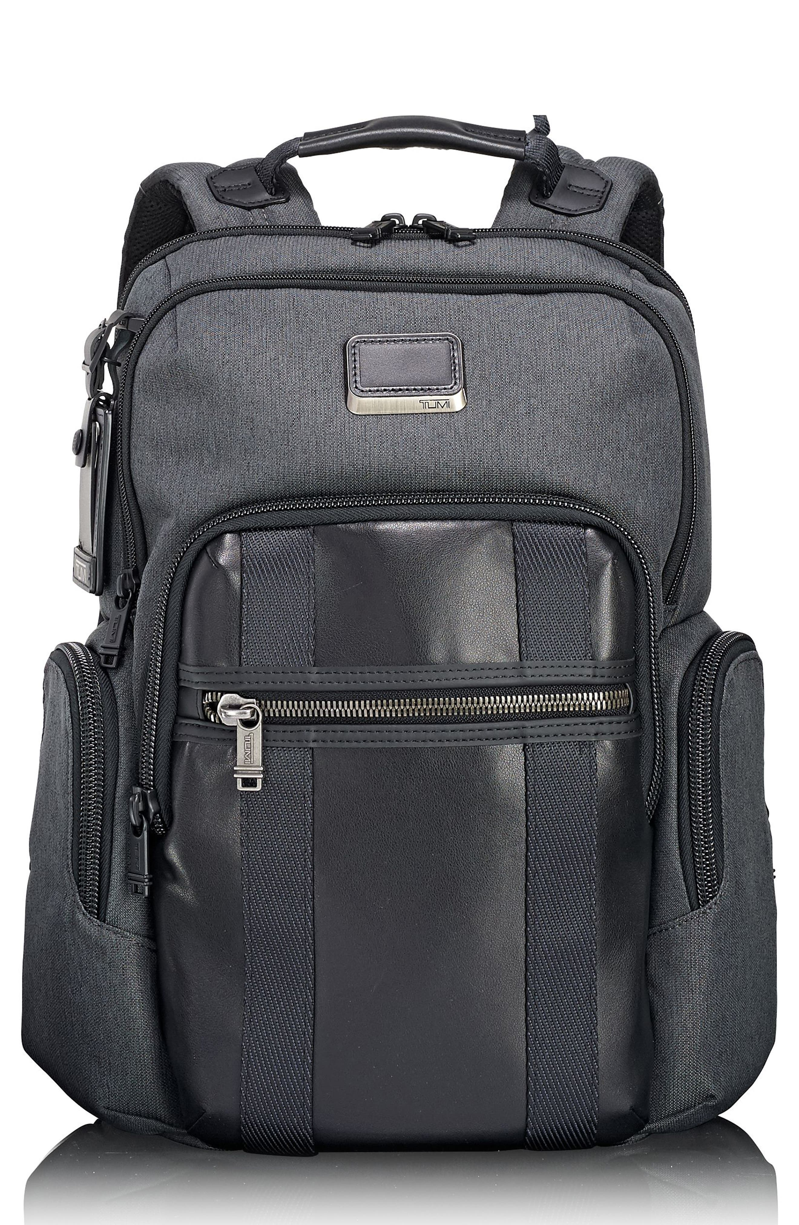 Alpha Bravo - Nellis Backpack,                             Main thumbnail 1, color,                             ANTHRACITE