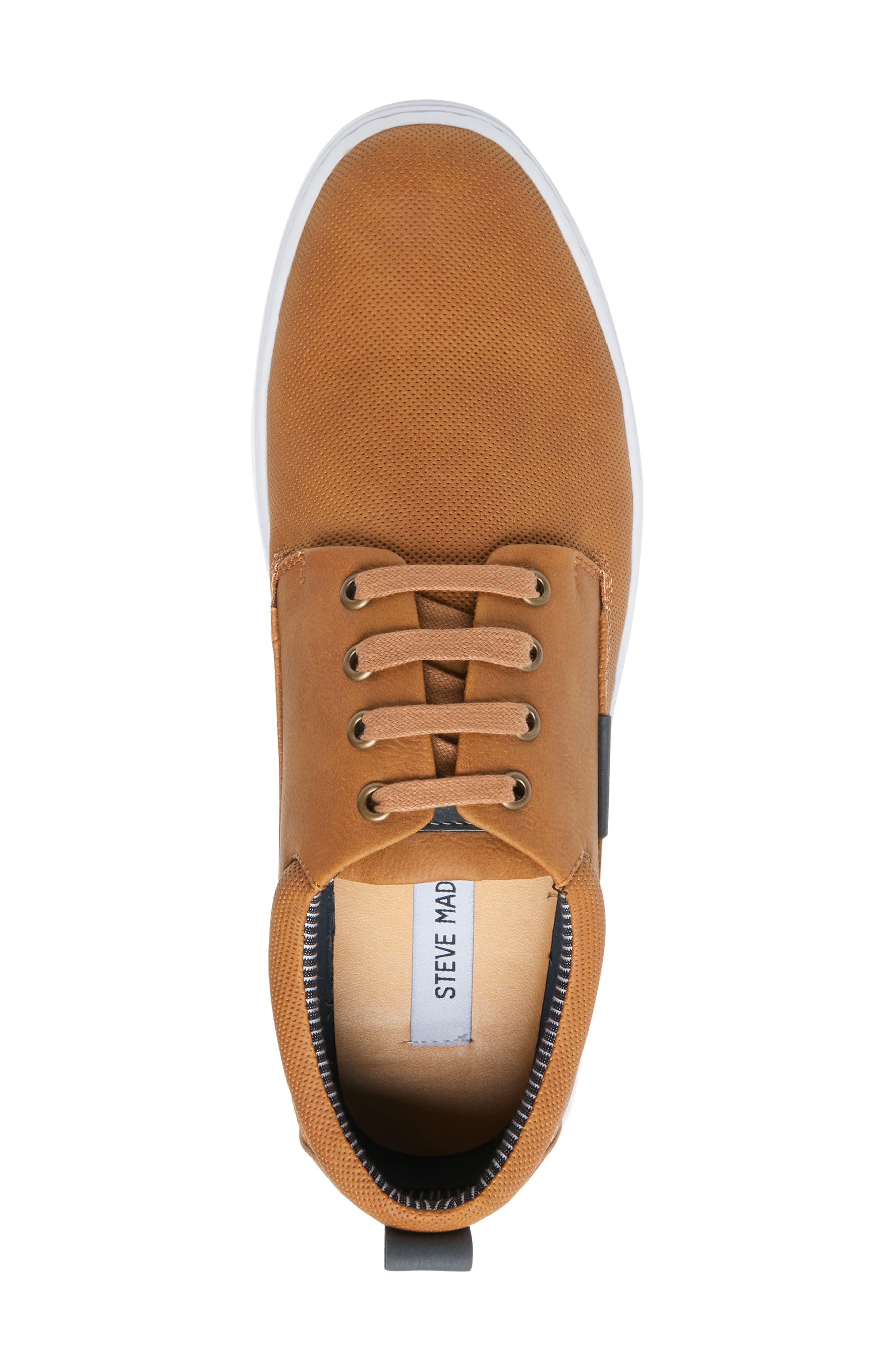 Halliday Sneaker,                             Alternate thumbnail 5, color,                             COGNAC