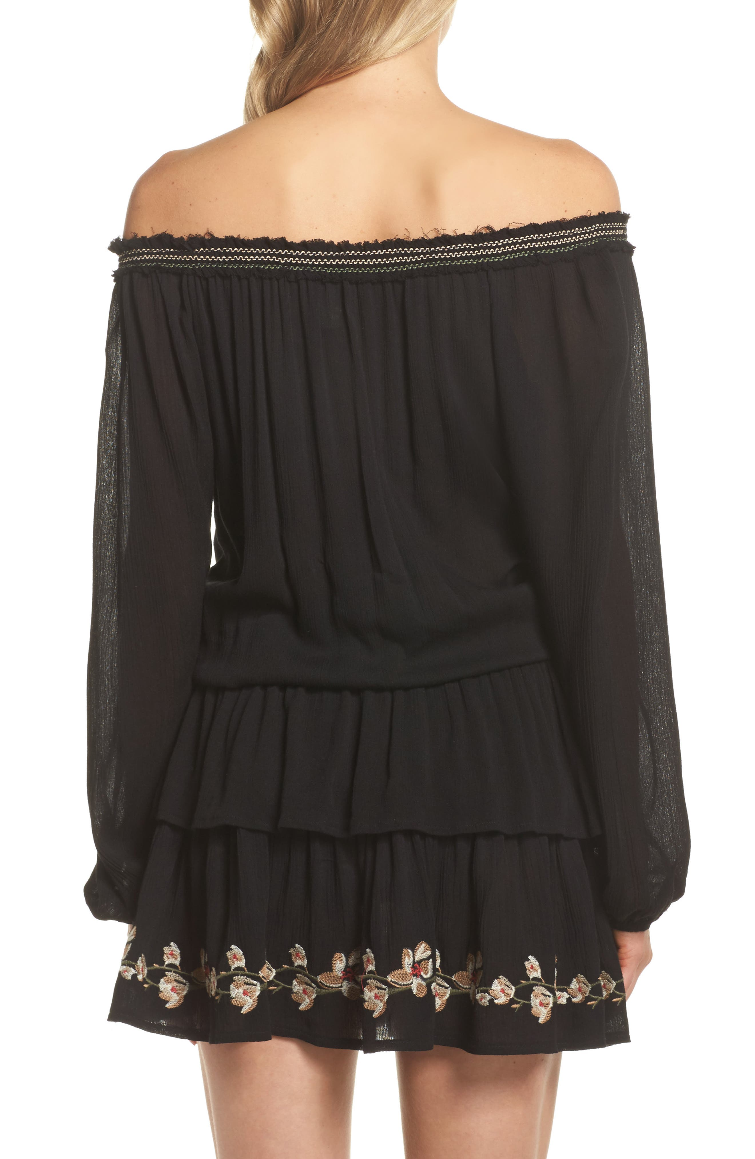 Cover-Up Dress,                             Alternate thumbnail 2, color,                             001