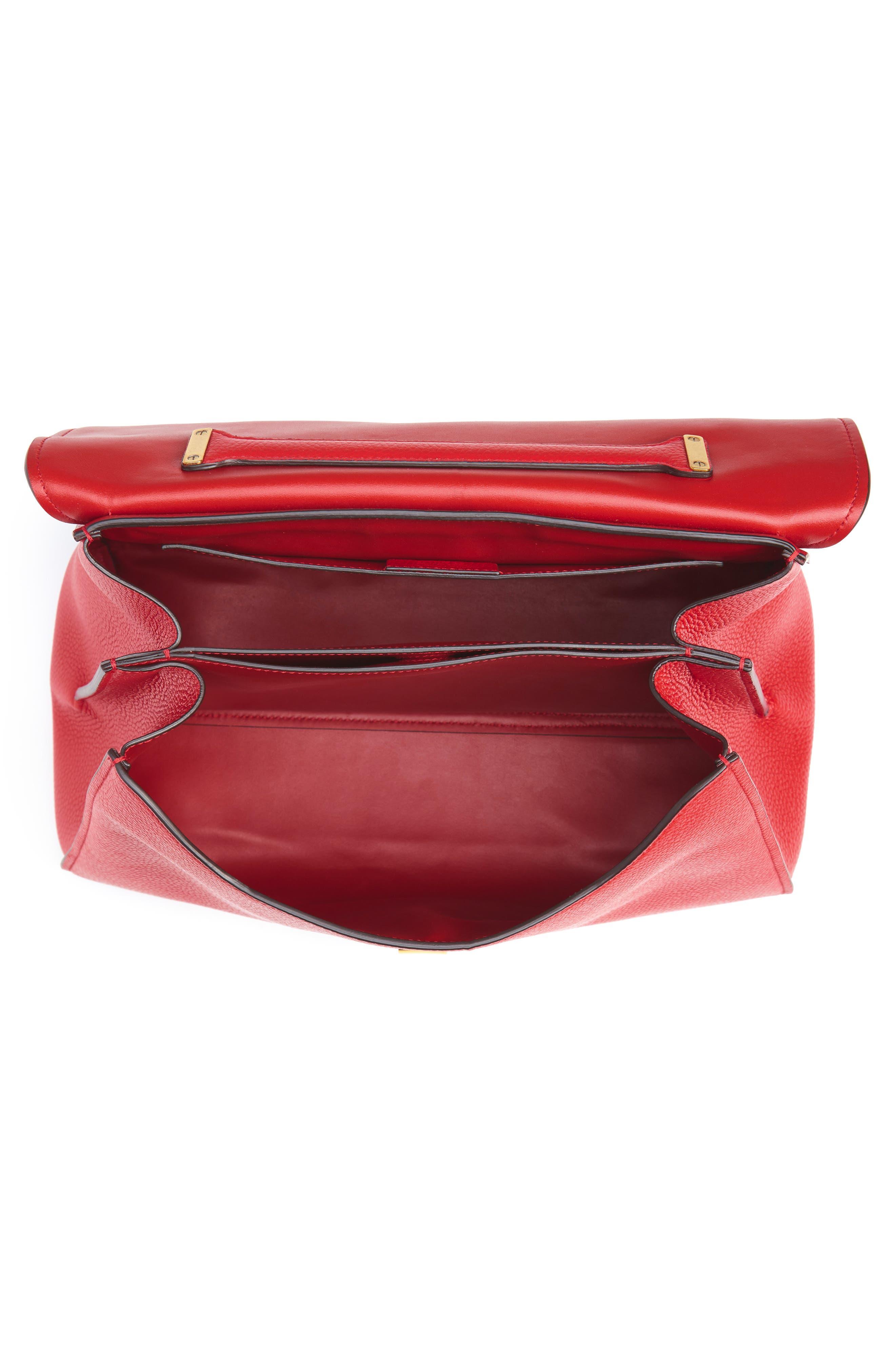 Flap Shoulder Bag,                             Alternate thumbnail 4, color,                             600