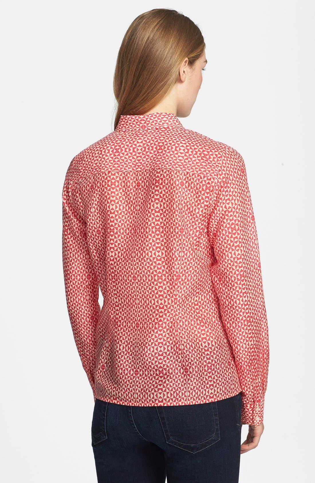 Cotton & Silk Shirt,                             Alternate thumbnail 81, color,