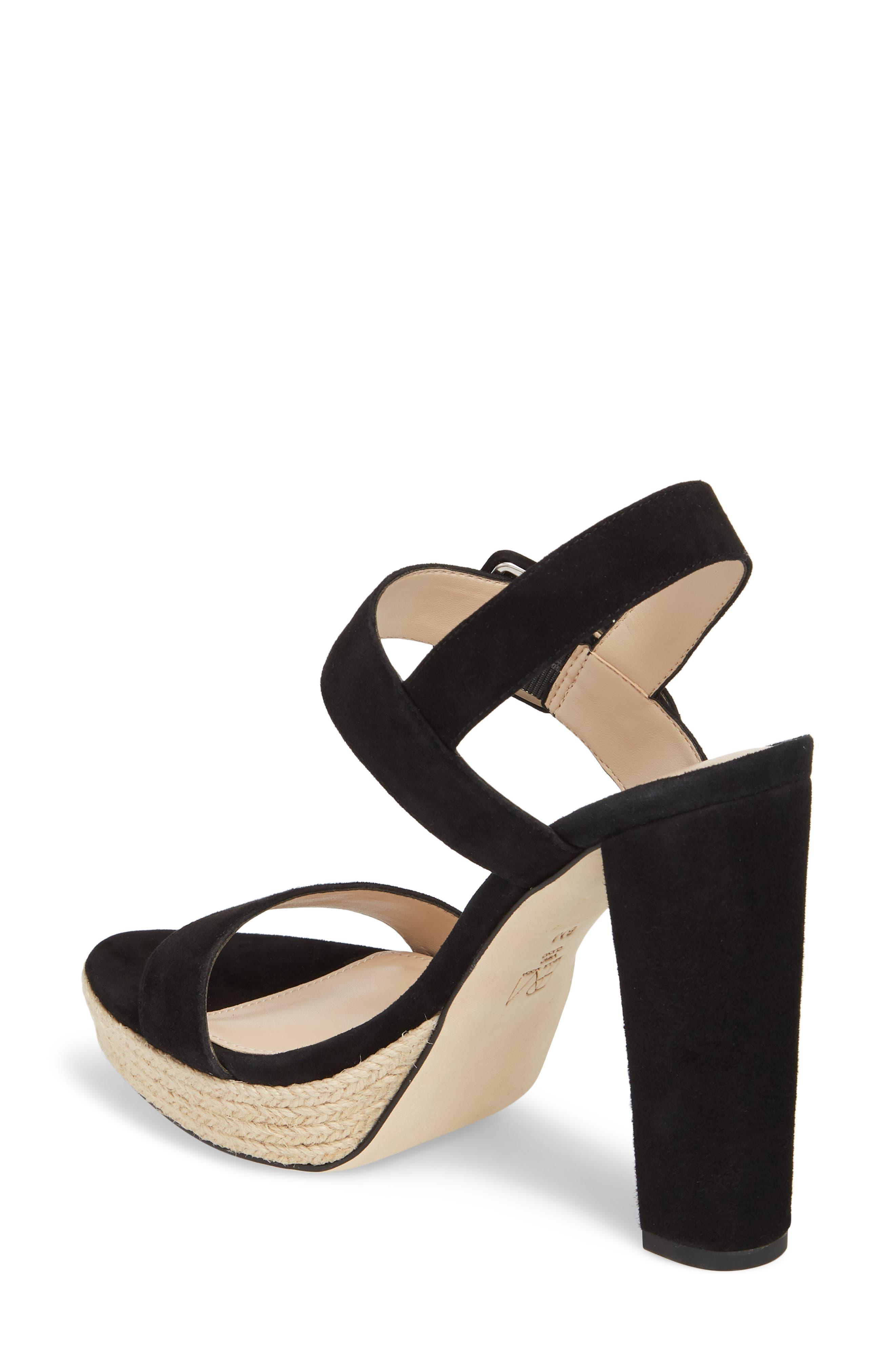 Paloma Platform Sandal,                             Alternate thumbnail 2, color,                             002