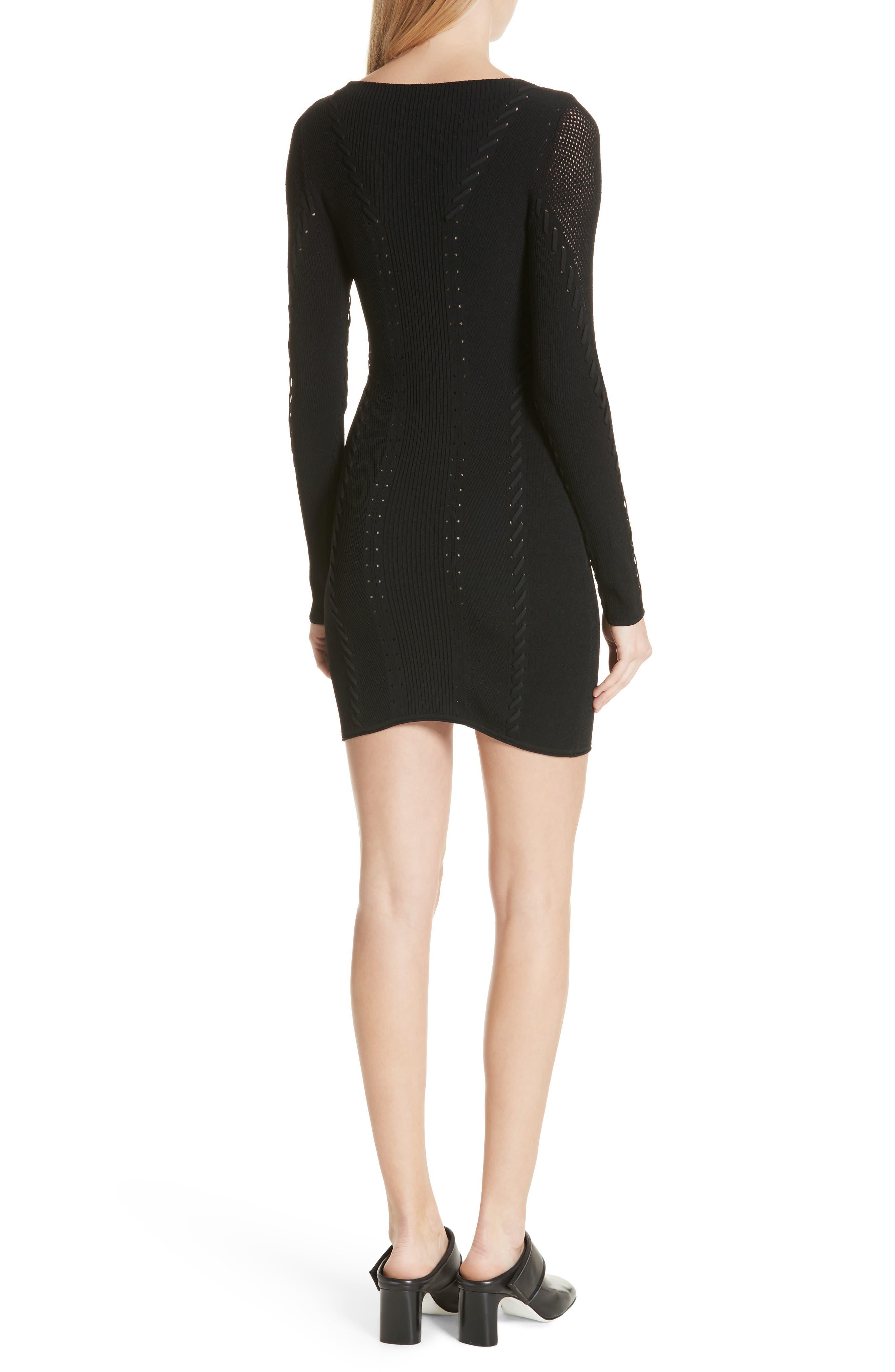 Brandy Whipstitch Dress,                             Alternate thumbnail 2, color,                             001
