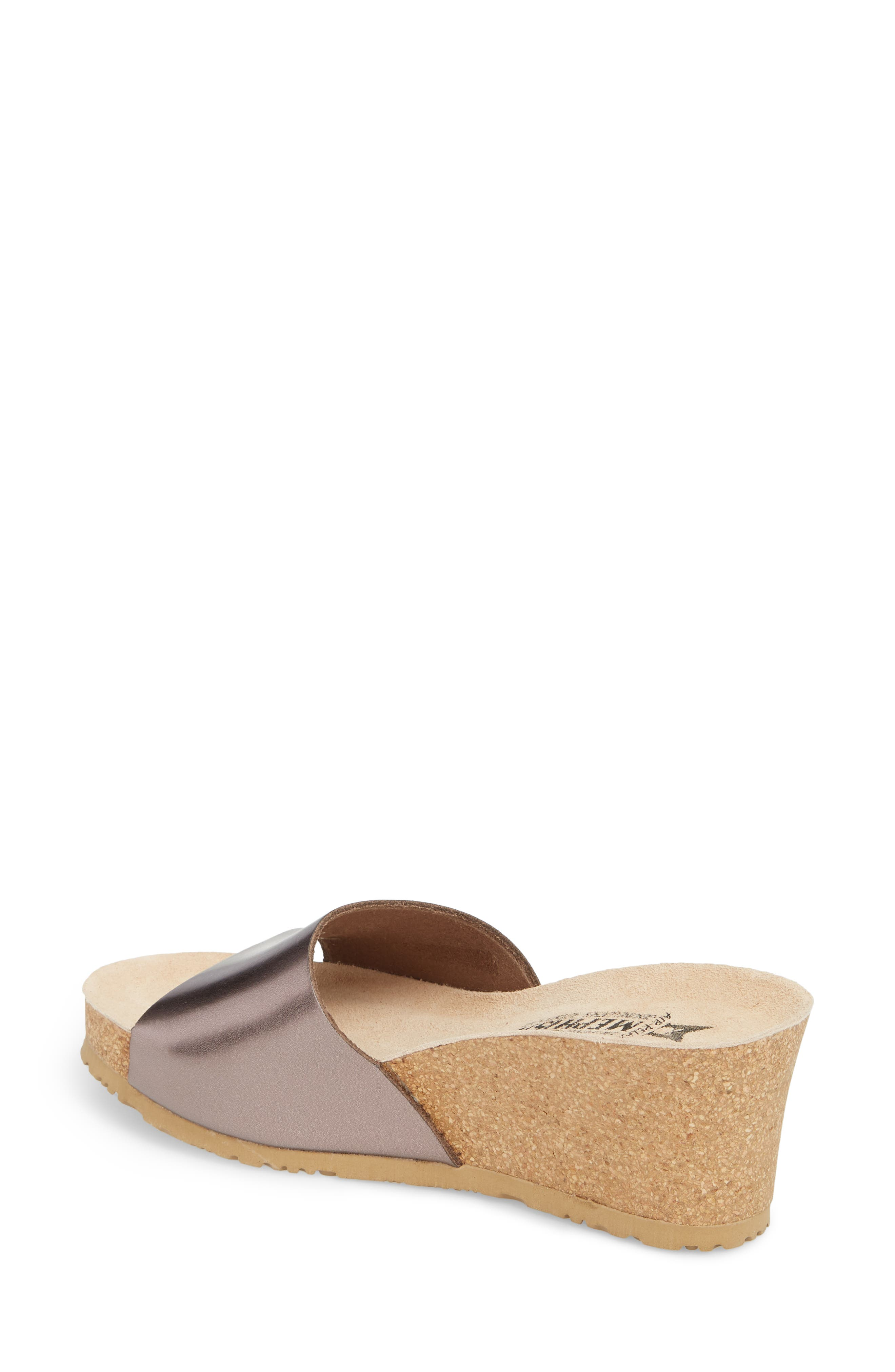Lise Platform Wedge Sandal,                             Alternate thumbnail 8, color,