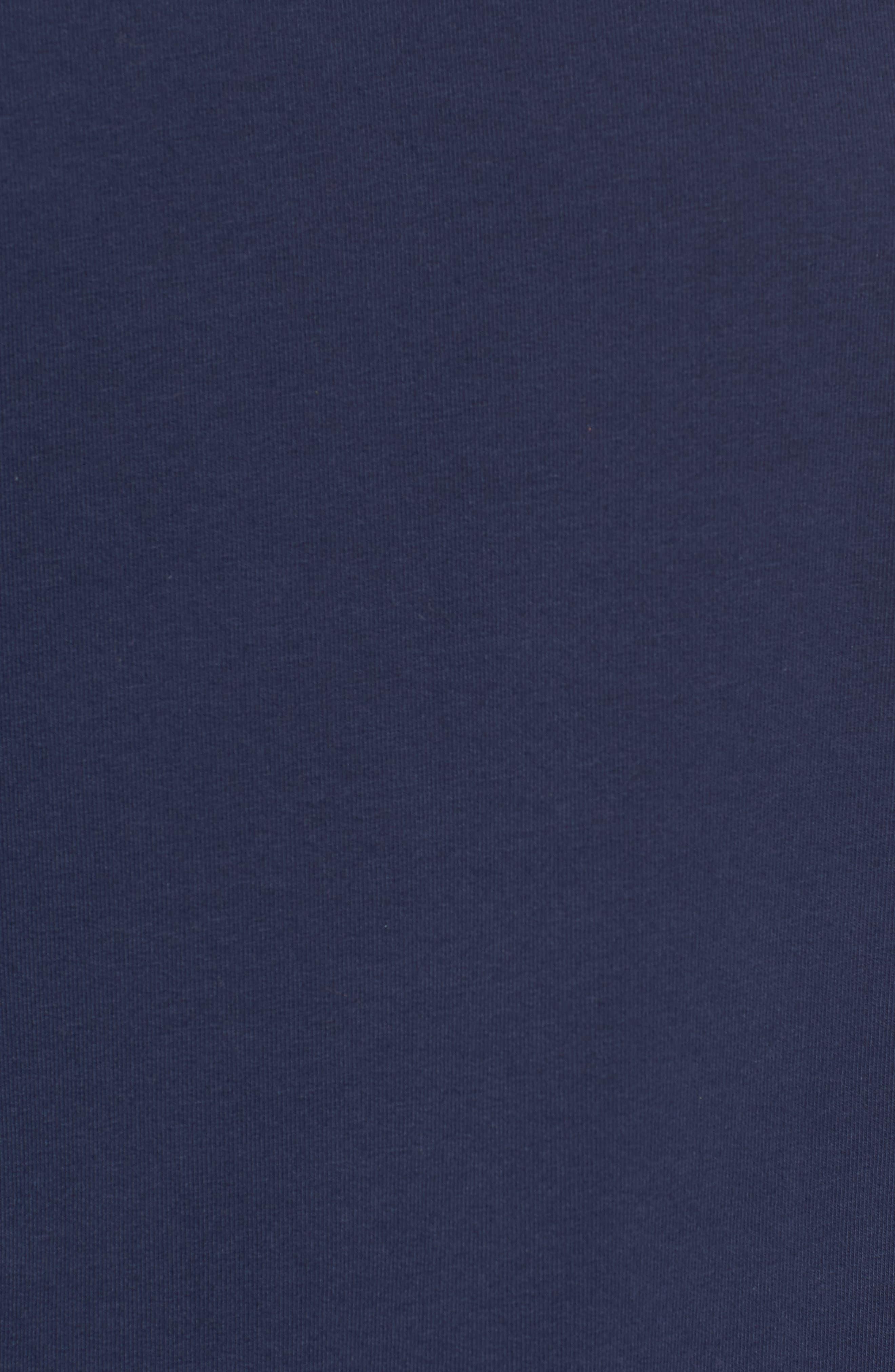 Poplin Ruffle Sleeve Sweatshirt,                             Alternate thumbnail 15, color,